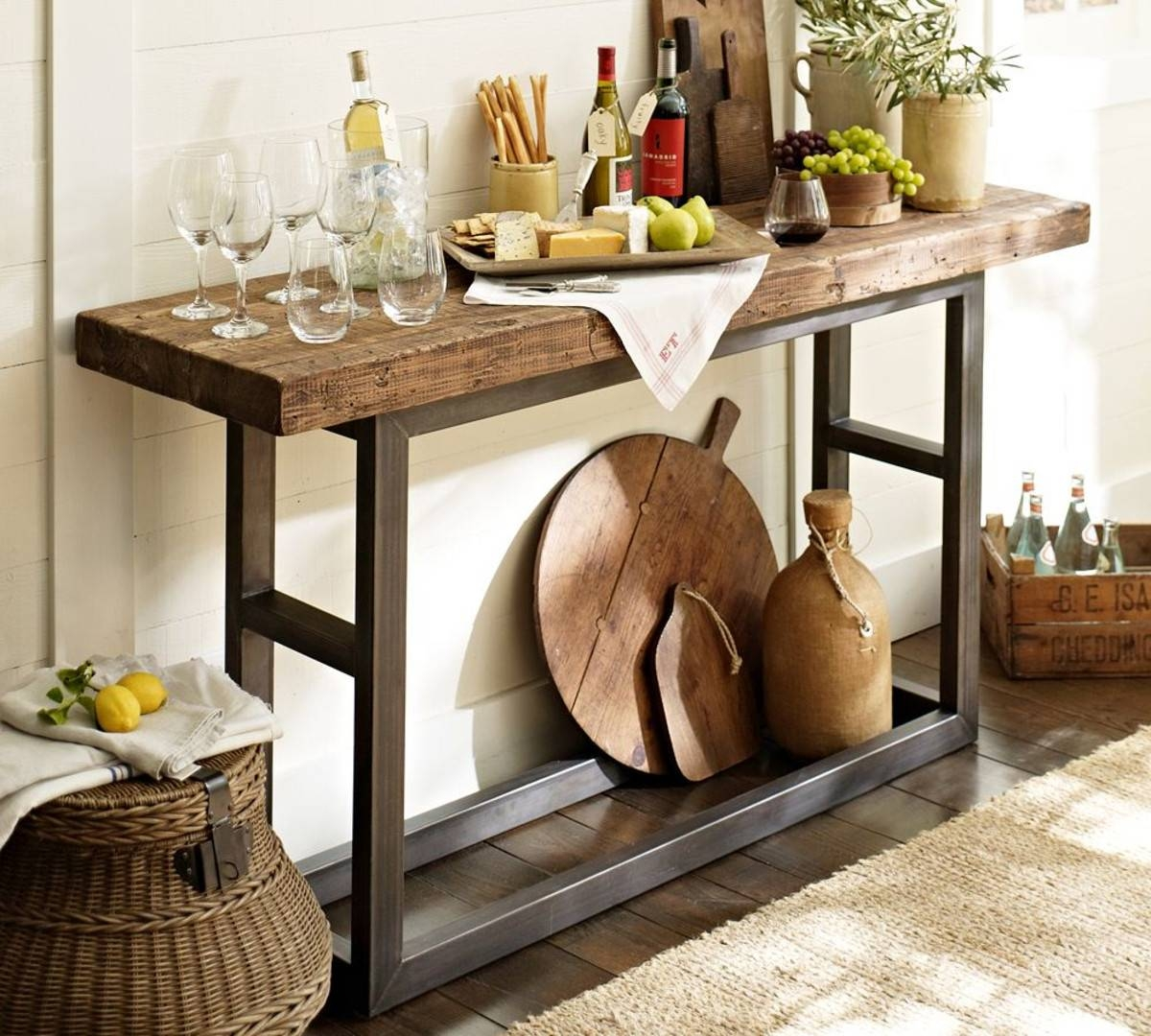 Reclaimed Wood Griffin Coffee Table — Sogocountry Design : Perfect pertaining to Griffin Coffee Tables (Image 24 of 30)