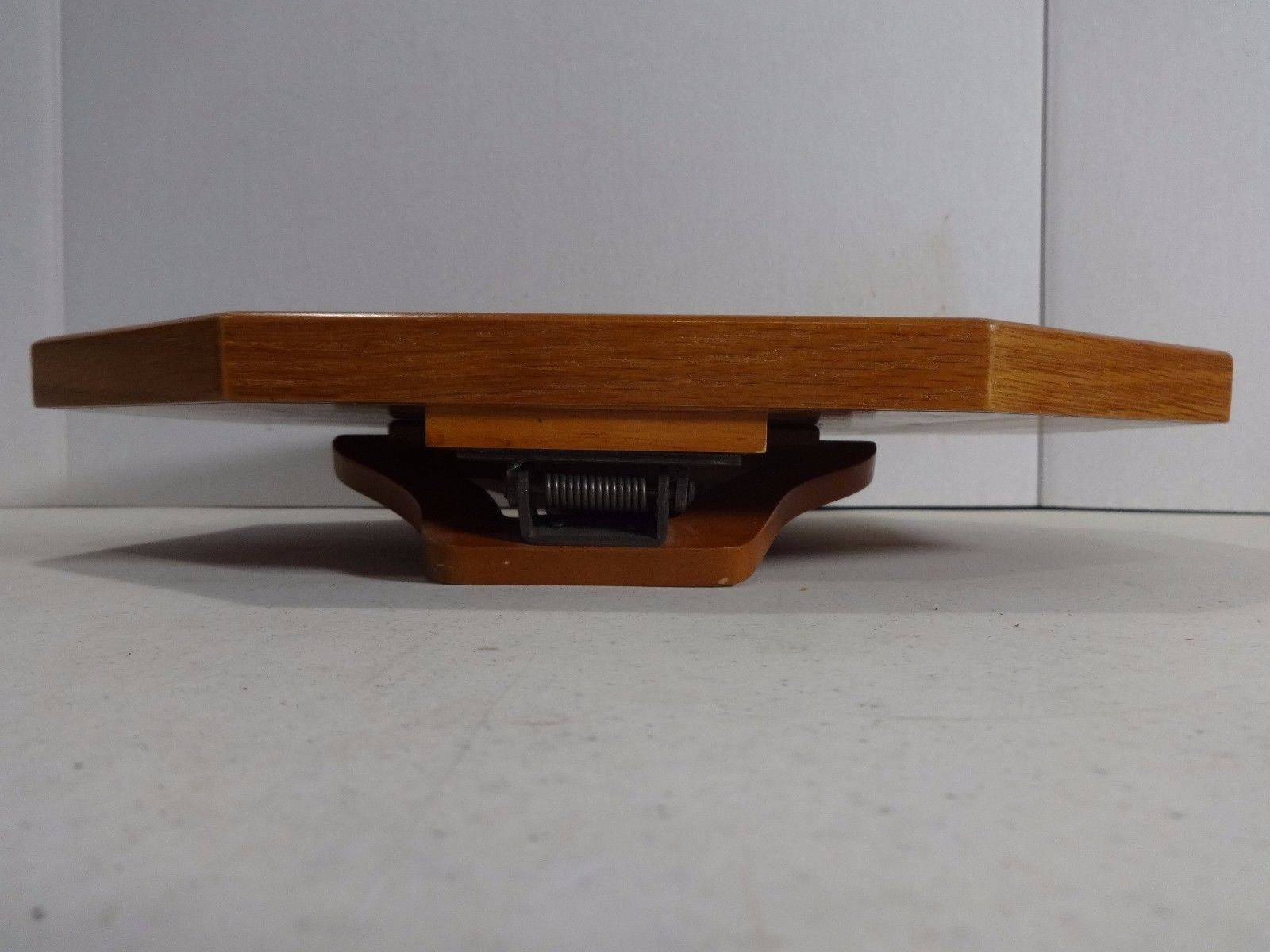 Recliner Armrest Wooden Honey Clip On Snack Tray Table Sofa Remote regarding Sofa Snack Tray Table (Image 15 of 30)