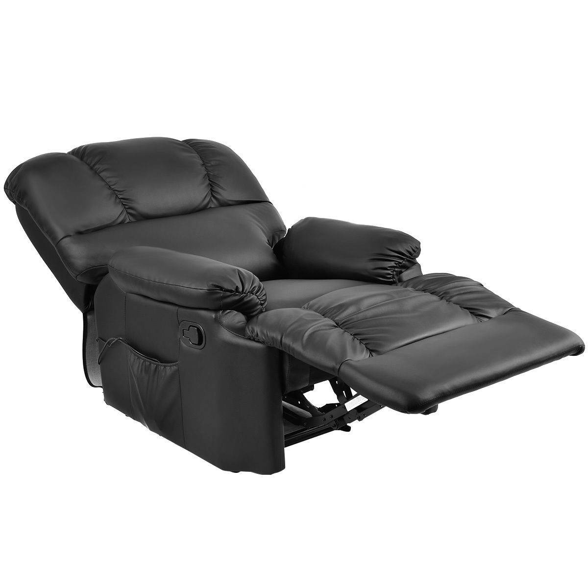 Recliner Massage Sofa Chair Deluxe Ergonomic Lounge Couch Heated W inside Sofa Chair Recliner (Image 22 of 30)