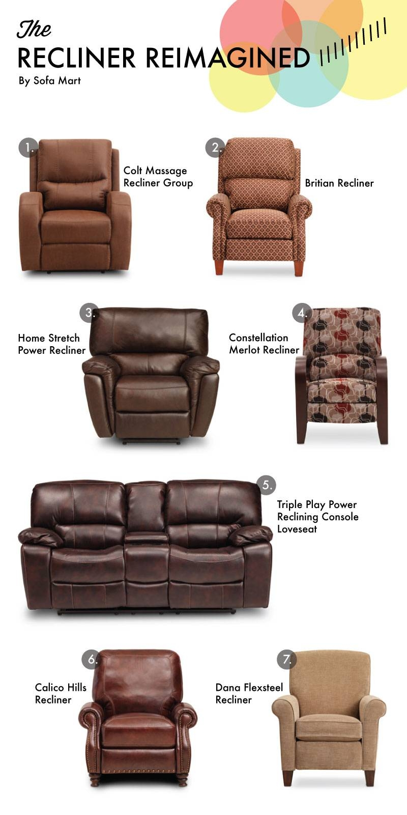 Recliner Reimagined For Father's Day – Sofa Mart For The Front Door Within Sofa Mart Chairs (View 19 of 30)