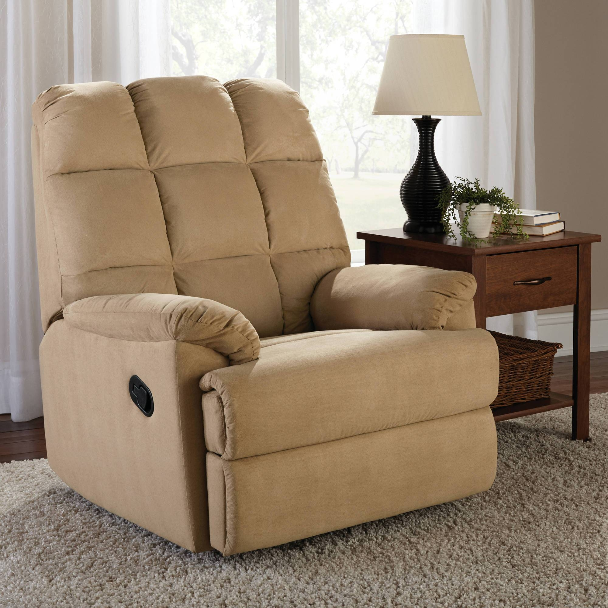 Recliners - Walmart with Sofa Rocking Chairs (Image 14 of 30)