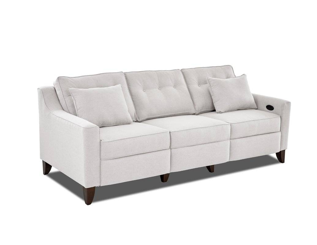 Reclining Loveseats & Sofas You'll Love | Wayfair intended for Recliner Sofa Chairs (Image 27 of 30)