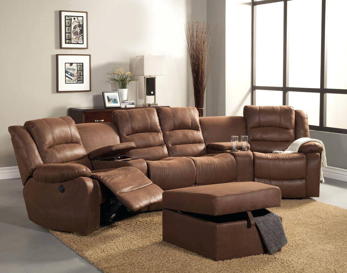 Reclining Sectionals With Cup Holders – Vupt with regard to Theatre Sectional Sofas (Image 21 of 30)