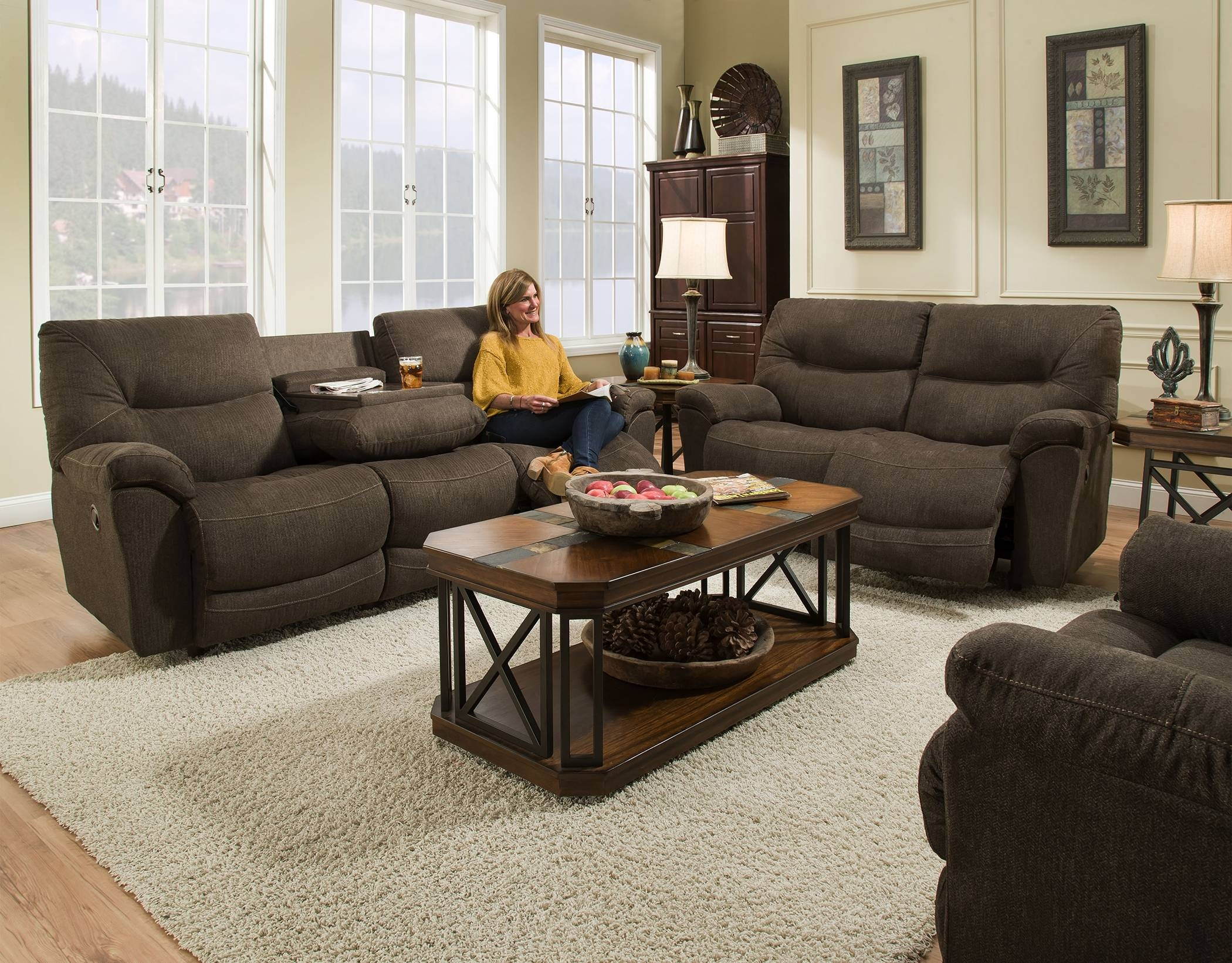 Reclining Sofas - Franklin Furniture with Richmond Sofas (Image 8 of 30)