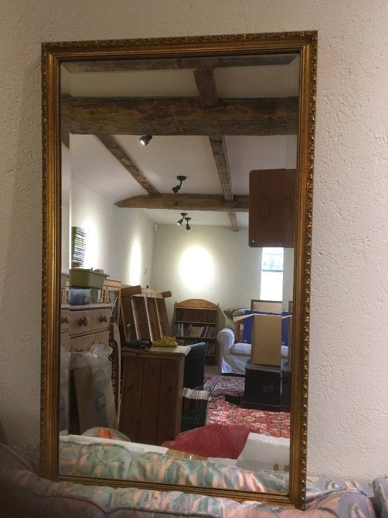 Rectangular Decorative Gilt Edged Mirror | In Nottingham within Gilt Edged Mirrors (Image 21 of 25)