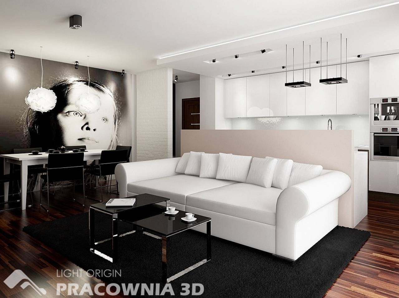 Red And White Living Rooms Glass Top Oak Laminate Flooring Beige pertaining to European Sectional Sofas (Image 23 of 30)