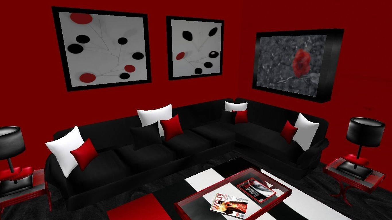 Red Black Bedroom Ideas Tremont Round Coffee Table Dark Wooden with Red Round Coffee Tables (Image 22 of 30)