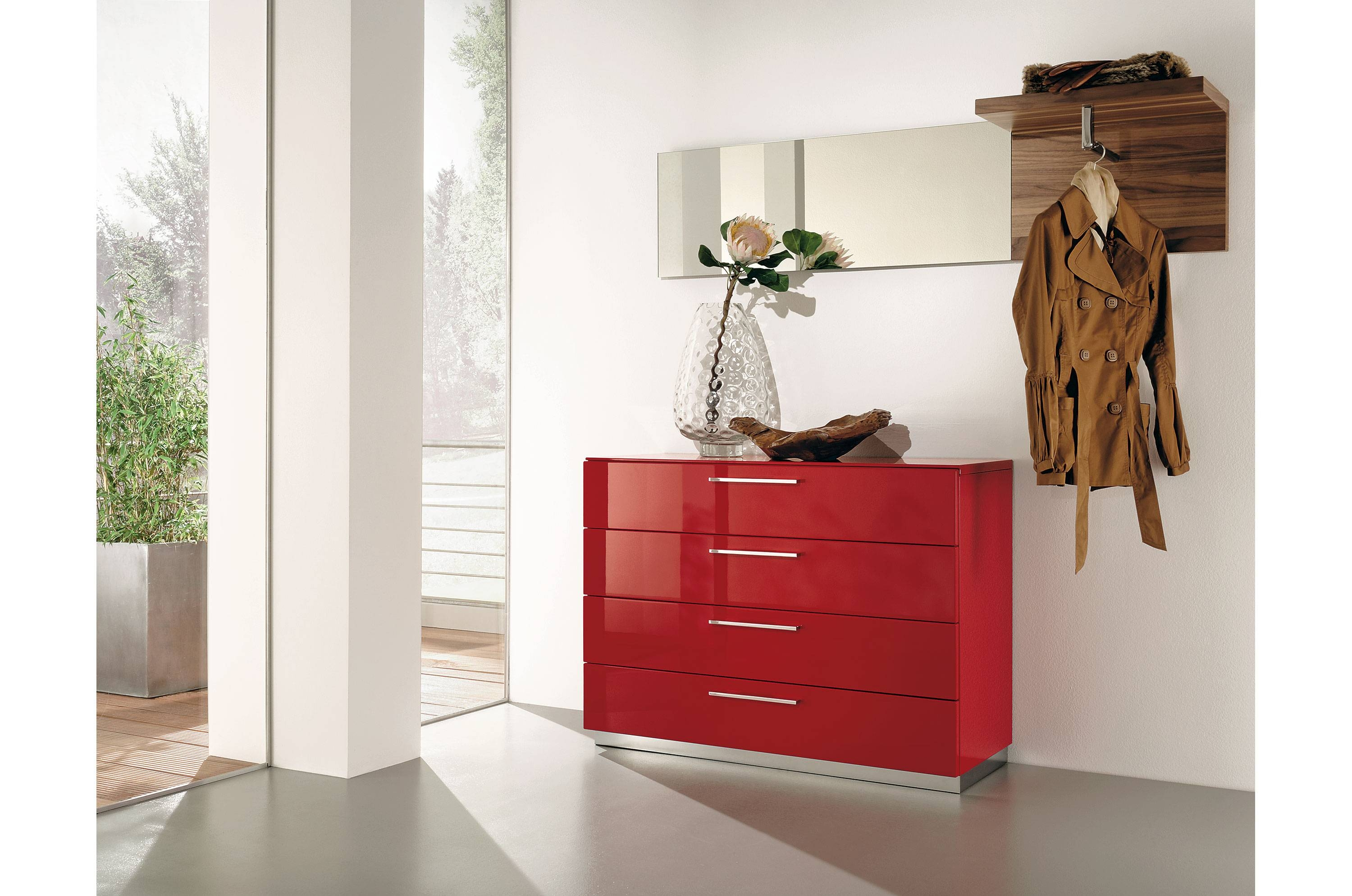 Featured Photo of Red High Gloss Sideboards