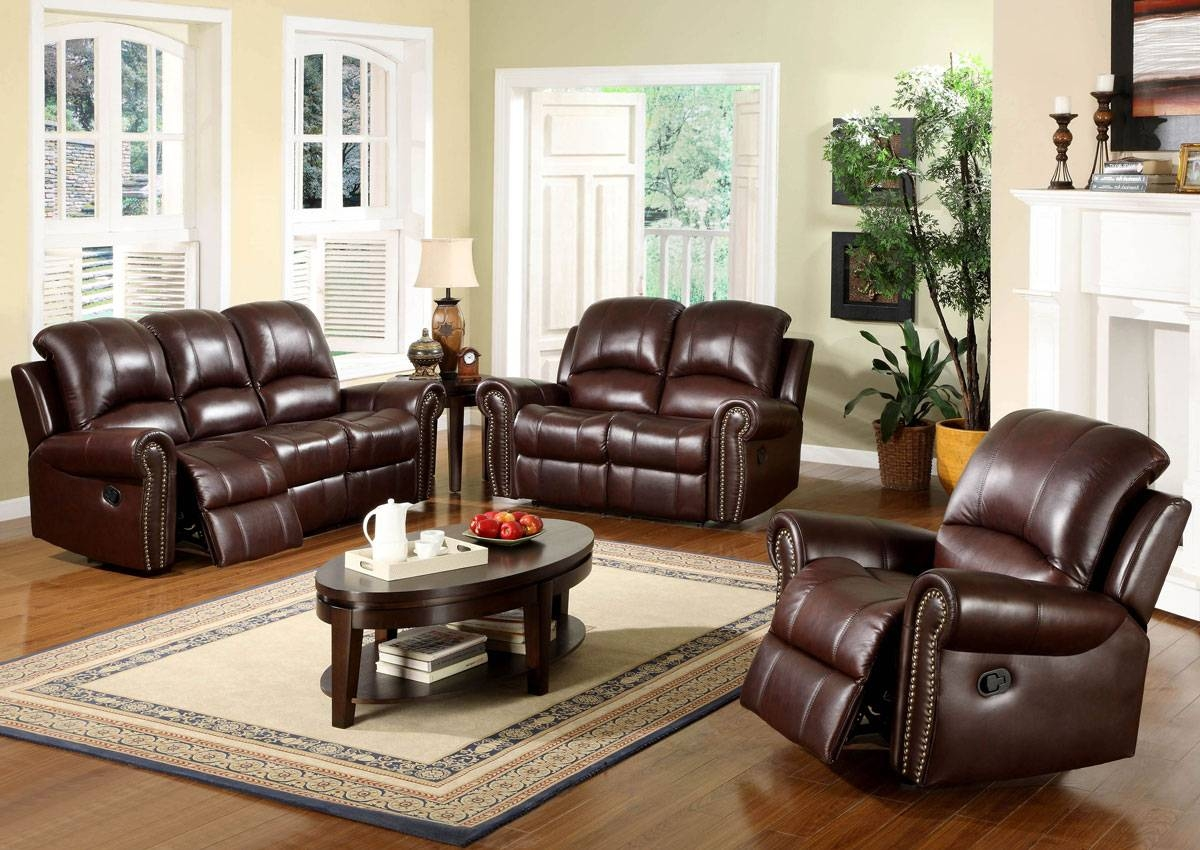 Red Leather Living Room Furniture Living Room Design And Living Throughout Living  Room Sofas (Image Part 66