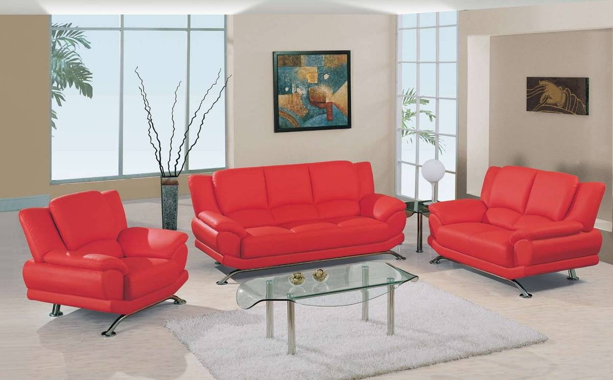 Red Living Room Set Living Room Design And Living Room Ideas within Red Sofas And Chairs (Image 15 of 30)