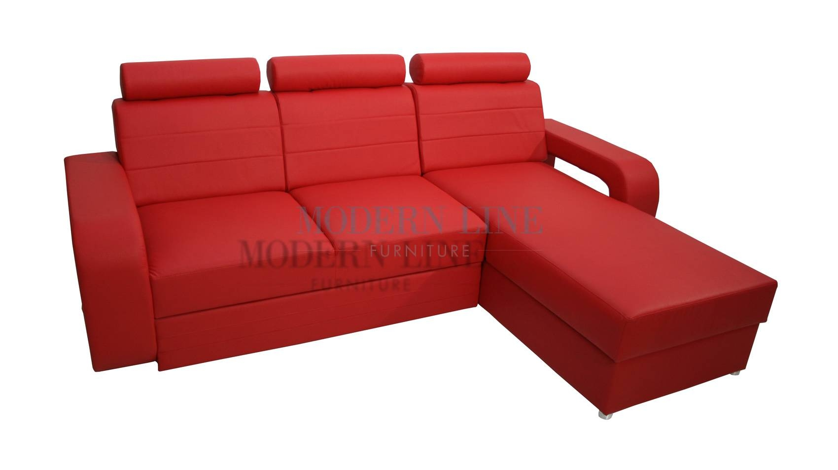 Red Sectional Sleeper Sofa - Video And Photos | Madlonsbigbear within Red Sectional Sleeper Sofas (Image 19 of 30)