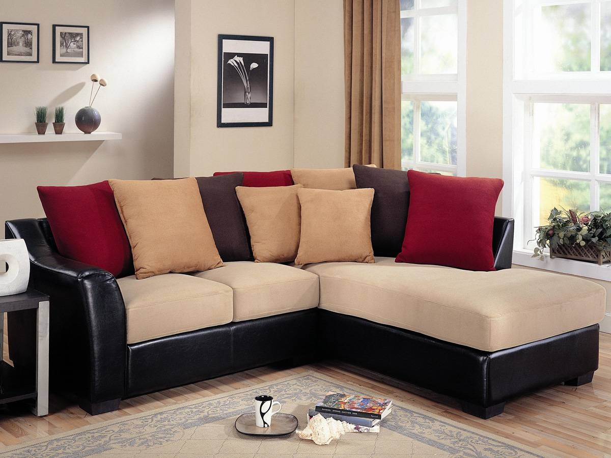 Red Sectional Sofa 8 Sectional Sofa Beds - S3Net - Sectional Sofas inside Red Black Sectional Sofa (Image 23 of 30)