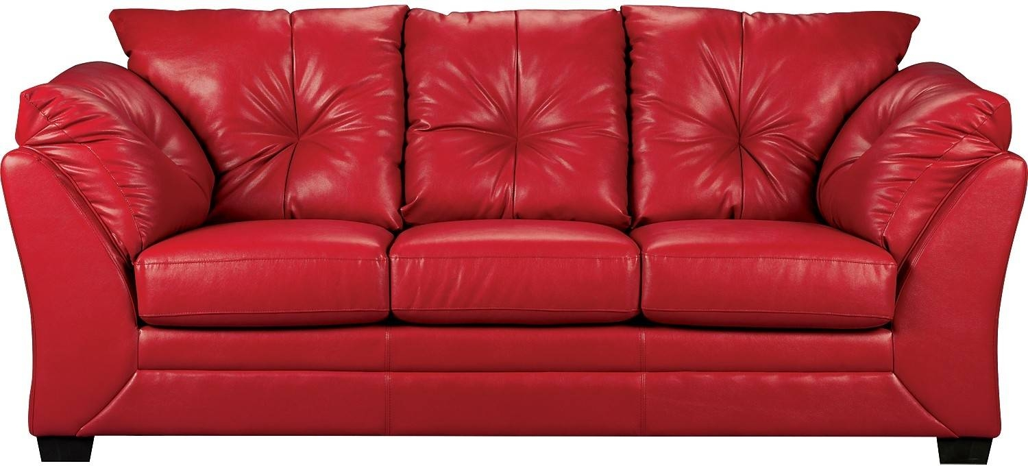 Red Sofa. Full Size Of Sofas Sectional Sofas Amazing In Modern in The Brick Leather Sofa (Image 21 of 30)