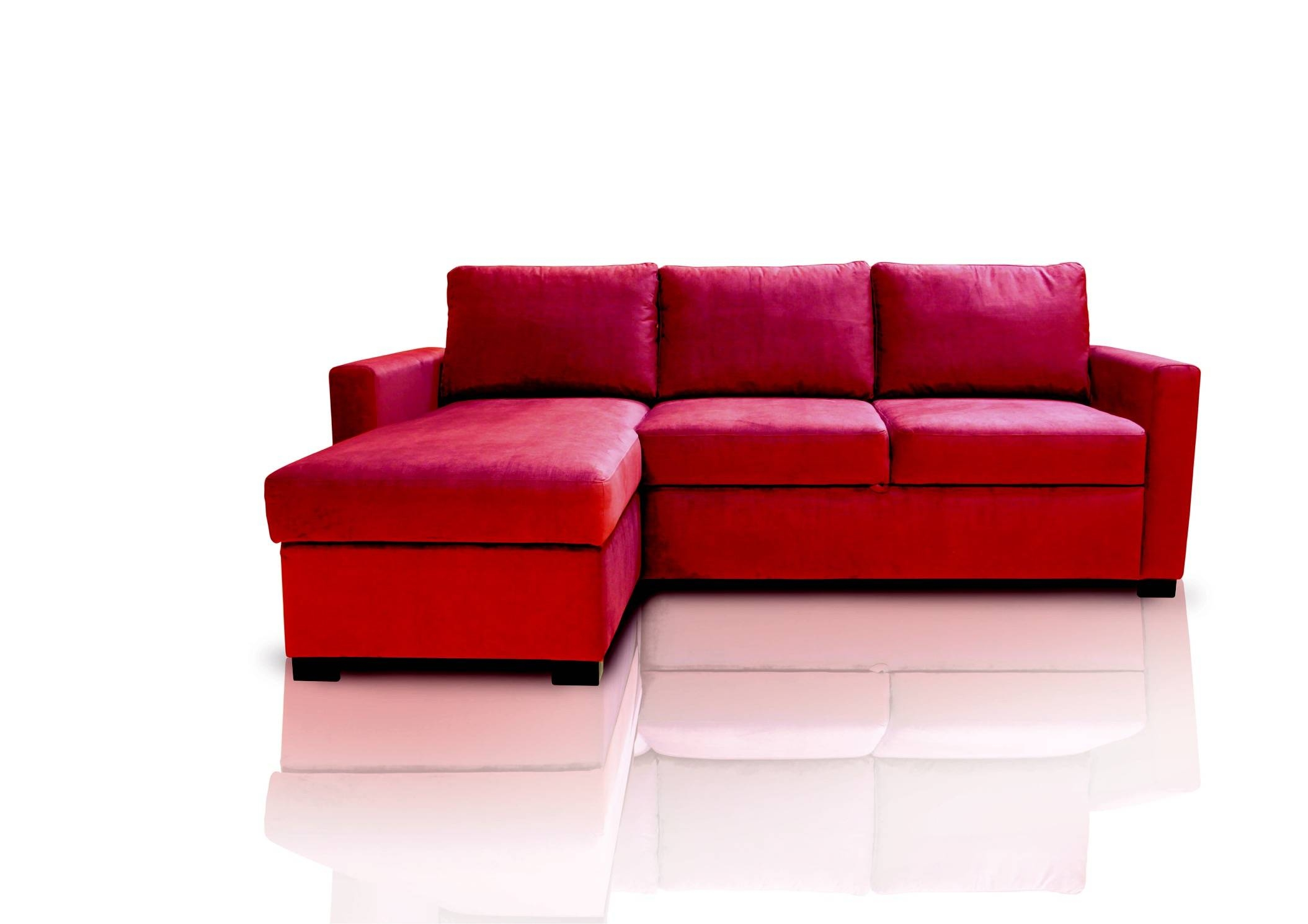 Red Sofa ~ Home & Interior Design throughout Red Sofa Chairs (Image 22 of 30)