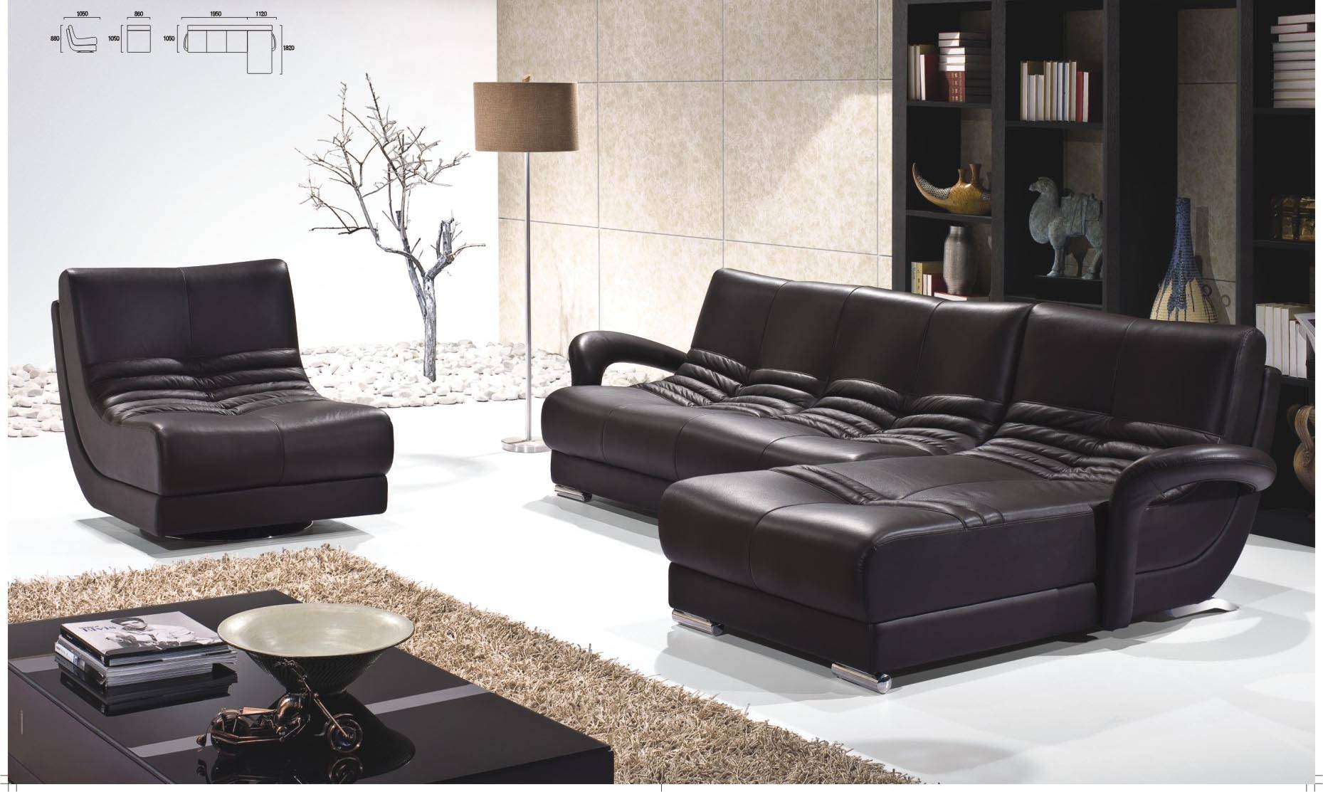 Remarkable Black Leather Living Room Set Ideas – Leather Living intended for Contemporary Black Leather Sofas (Image 22 of 30)