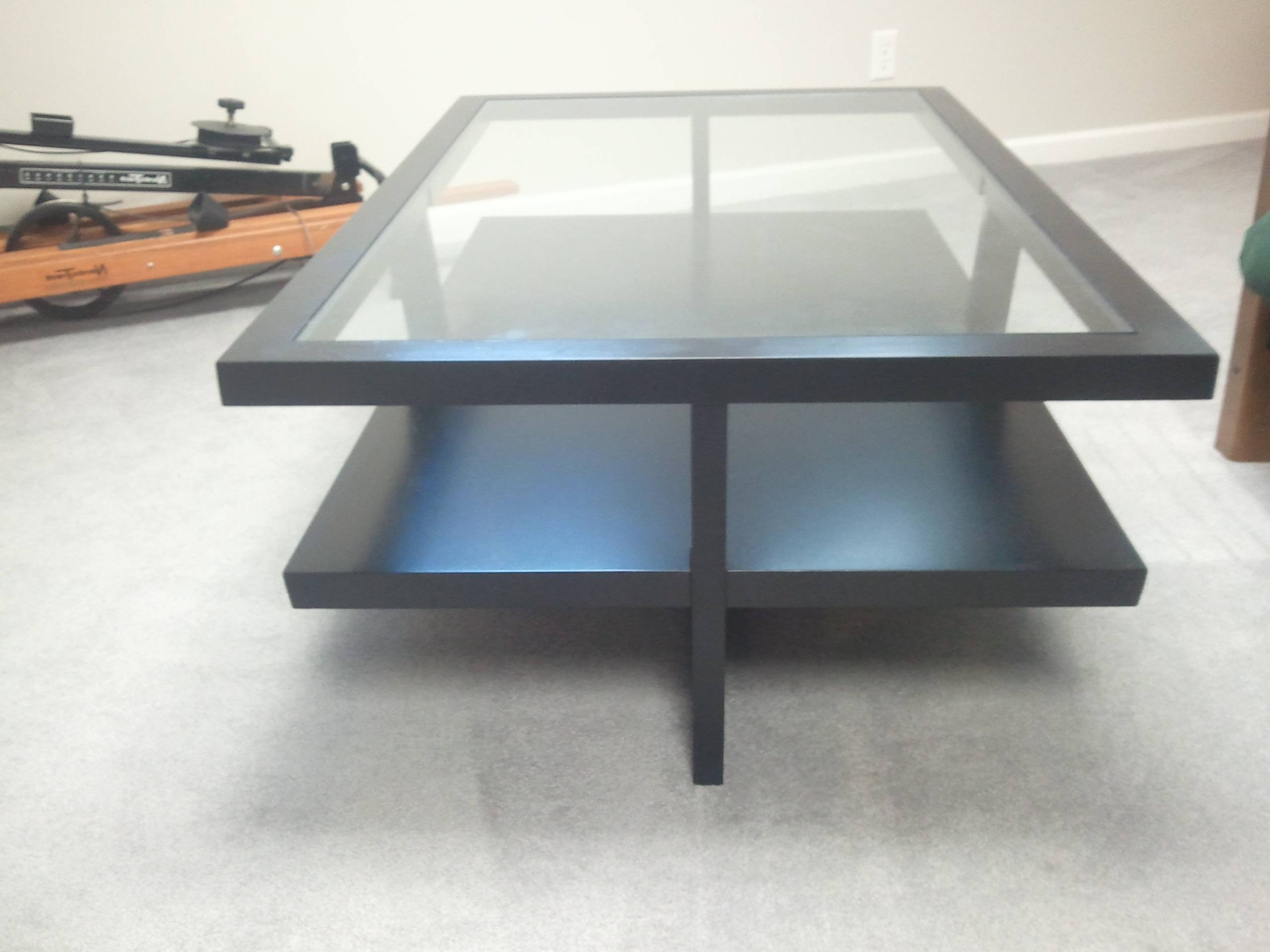 Remarkable Glass Coffee Table Modern – Metal And Glass Coffee for Round High Gloss Coffee Tables (Image 18 of 30)