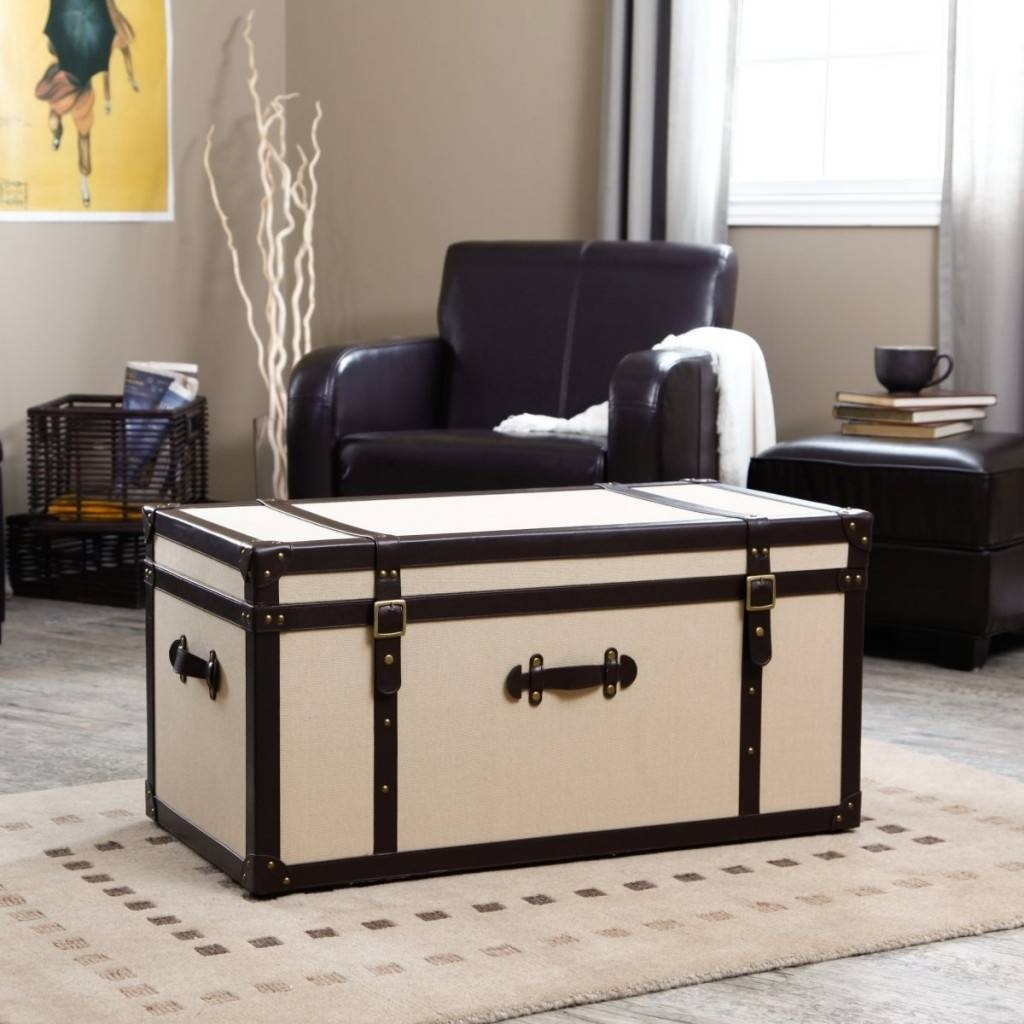 Remarkable Unique Steamer Trunk Coffee Table In Home Remodel Ideas in Steamer Trunk Stainless Steel Coffee Tables (Image 17 of 30)