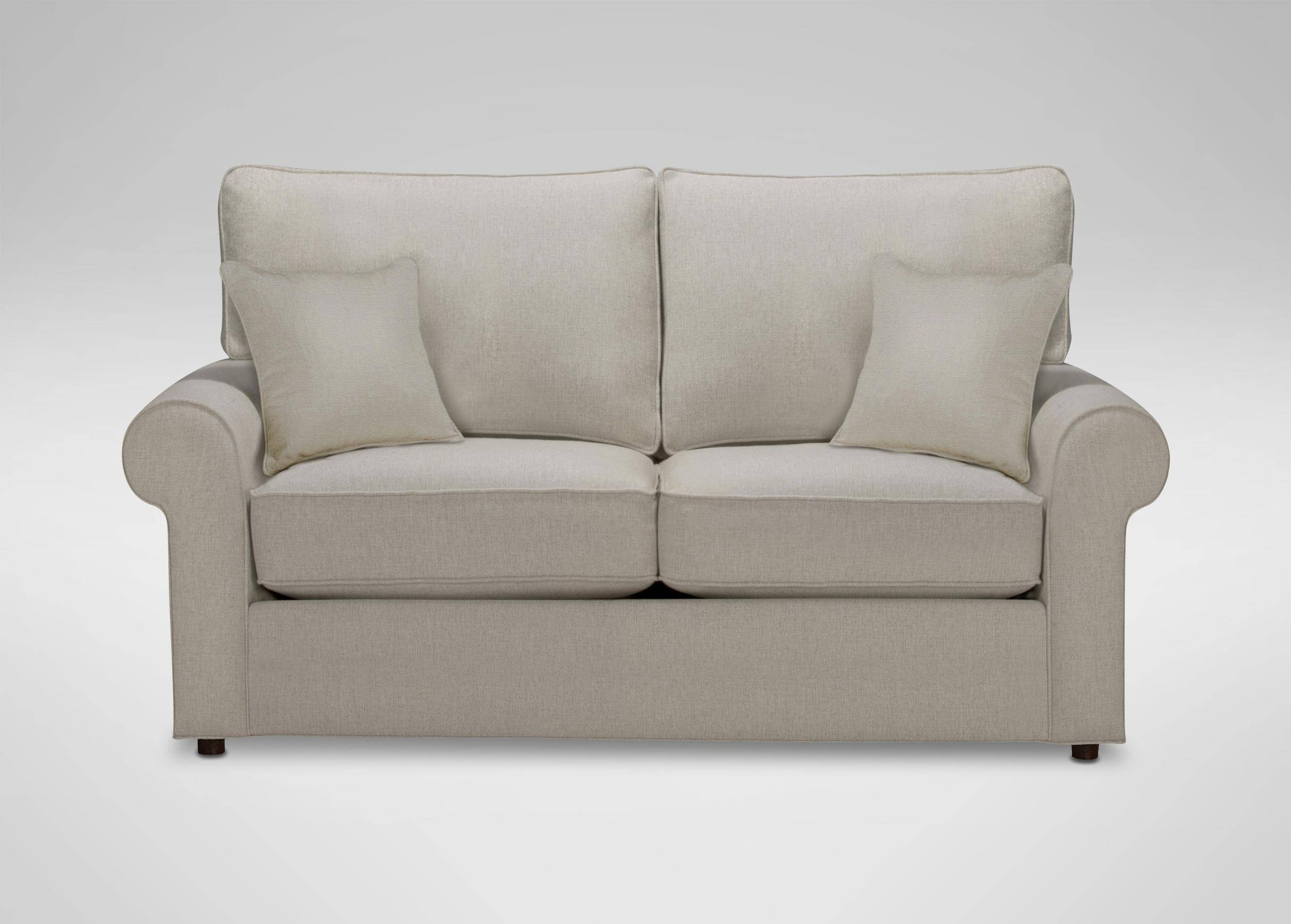 Retreat Roll-Arm Sofa, Quick Ship | Sofas & Loveseats in 68 Inch Sofas (Image 11 of 30)
