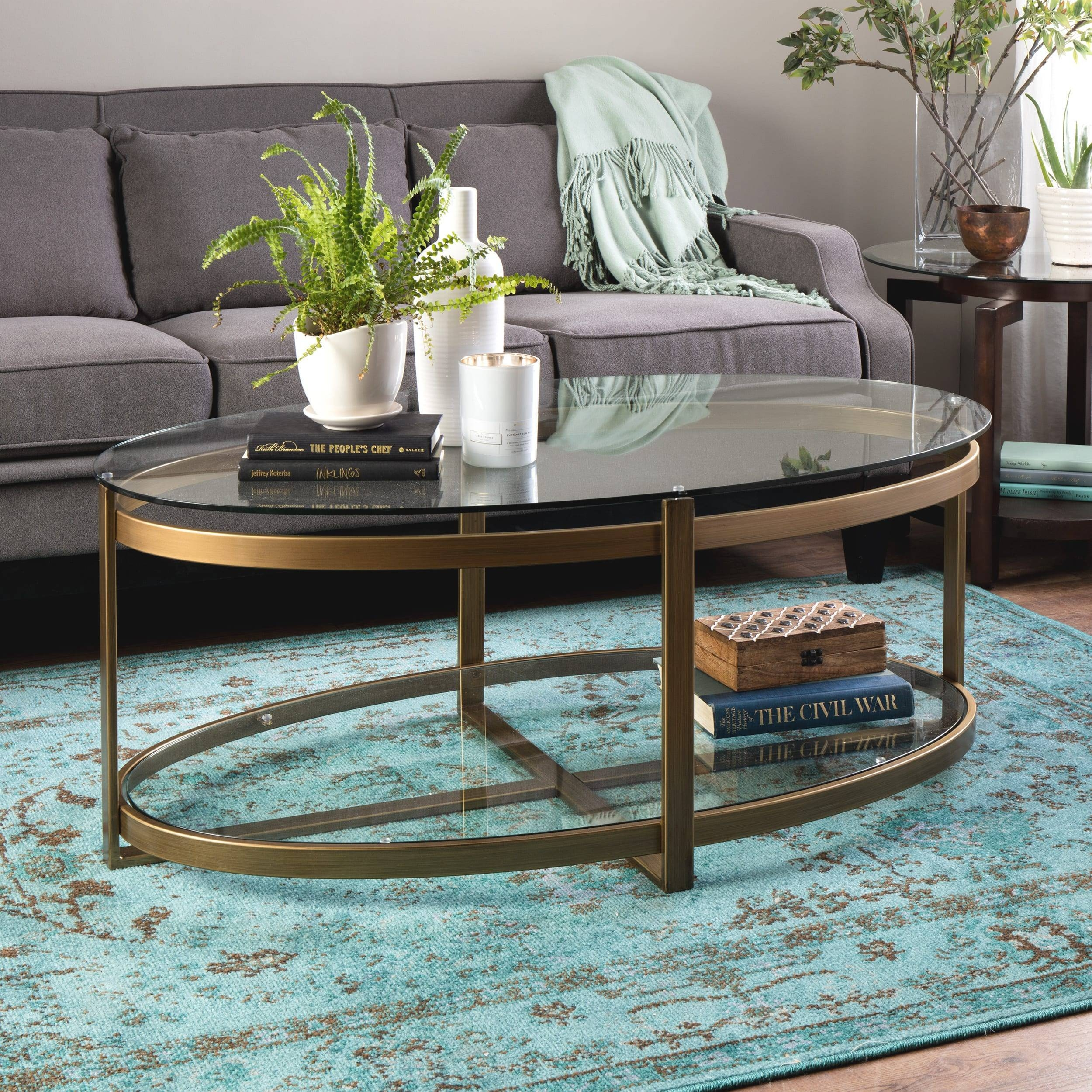 The Best Retro Glitz Glass Coffee Tables