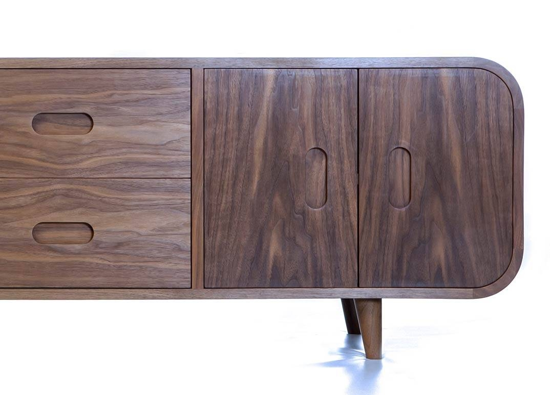 Retro Sideboard | Makers' Eye with Curved Sideboards (Image 10 of 30)