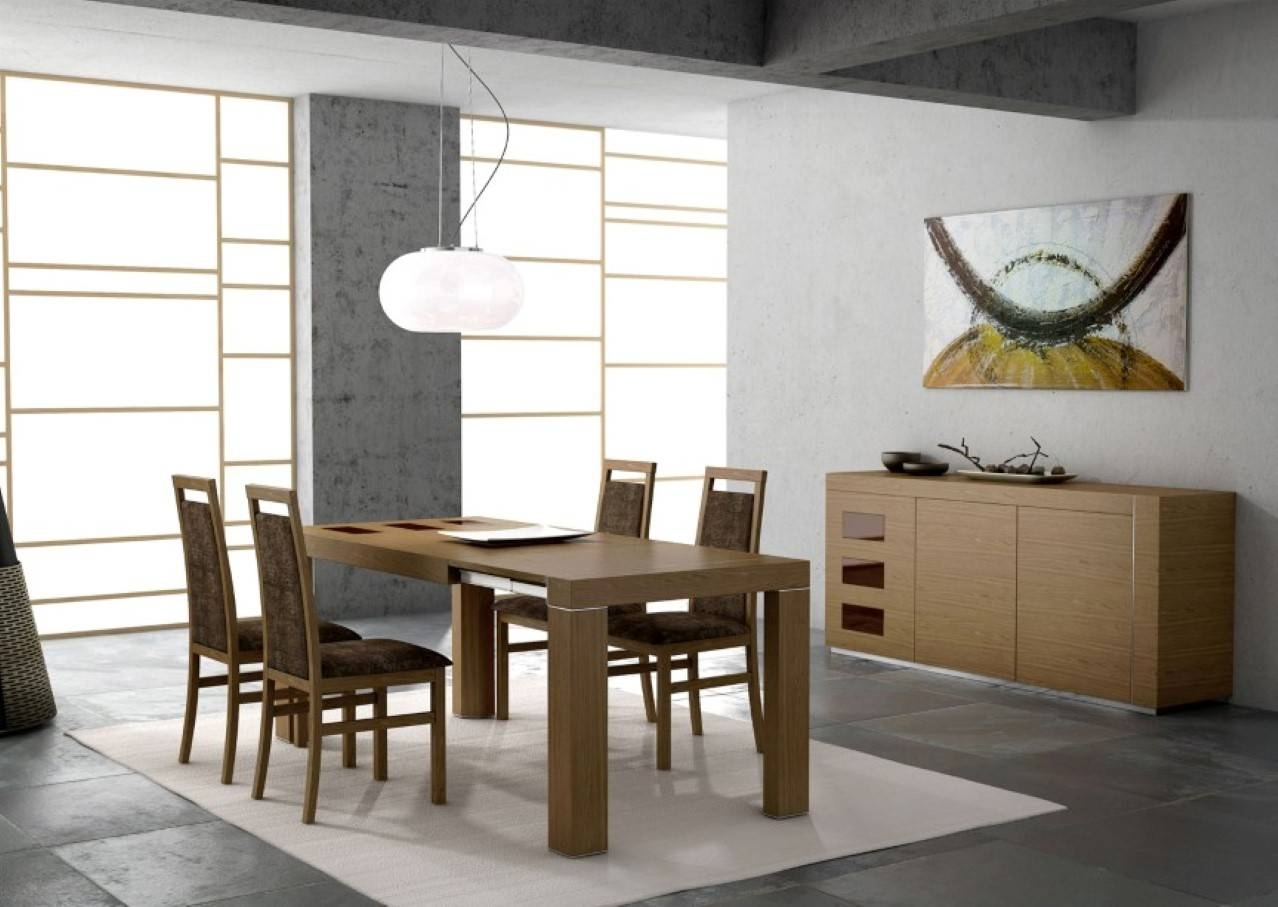 Revamping Your Dining Room Sense Through Vogue Modern Tables for Glass Sideboards for Dining Room (Image 17 of 30)