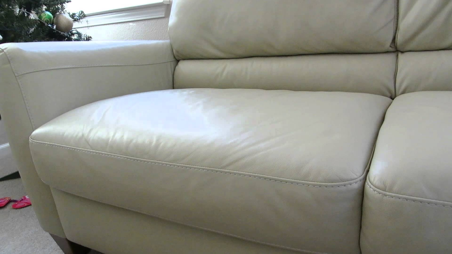Review Of The Macys Almafi Leather Lime Green Sofa   Youtube For Macys Sofas (Photo 21 of 25)