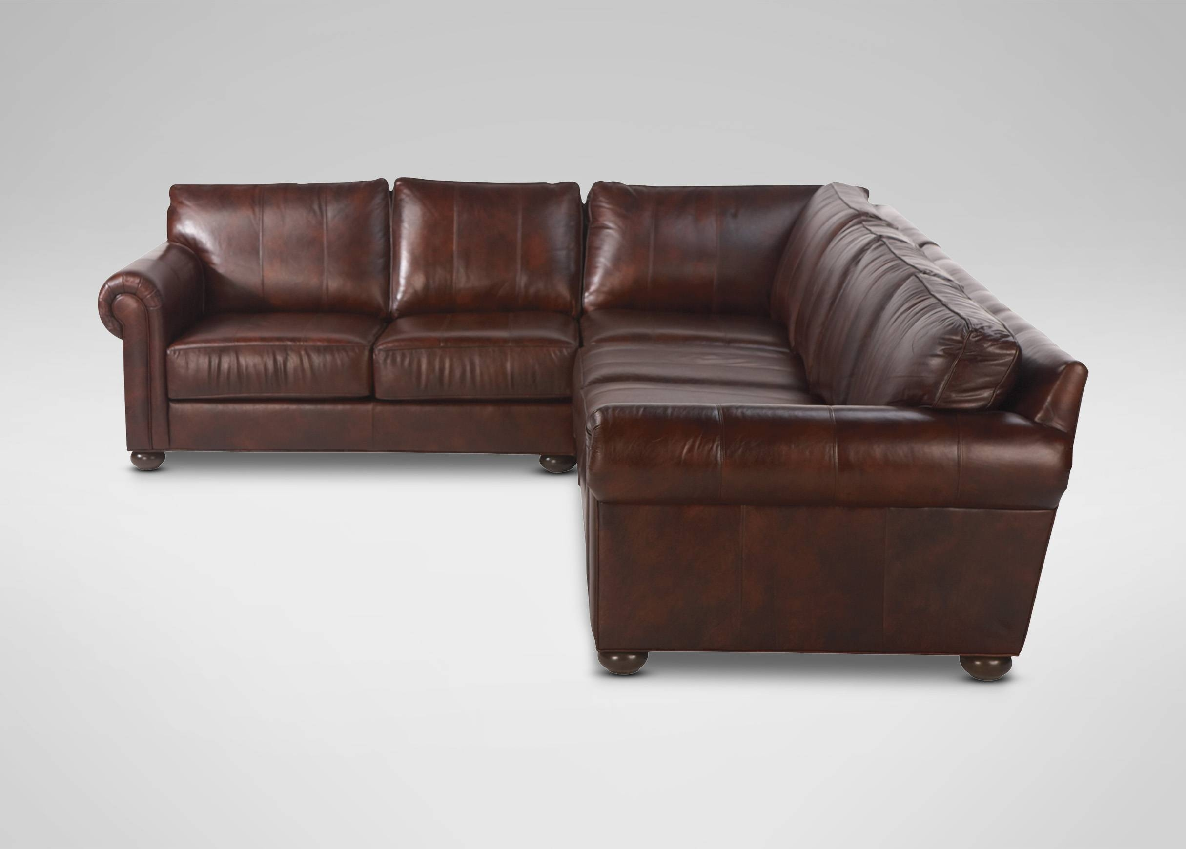Richmond Leather Sectional | Sectionals inside Richmond Sofas (Image 16 of 30)