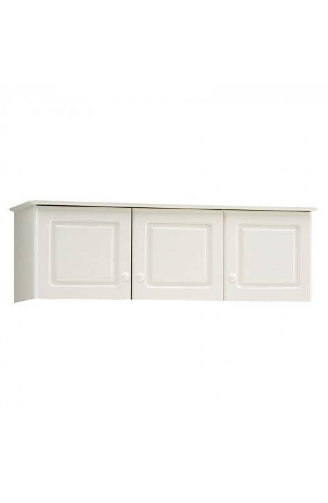 Richmond Top Box For 3 Door Wardrobe. White inside Richmond Wardrobes (Image 7 of 15)