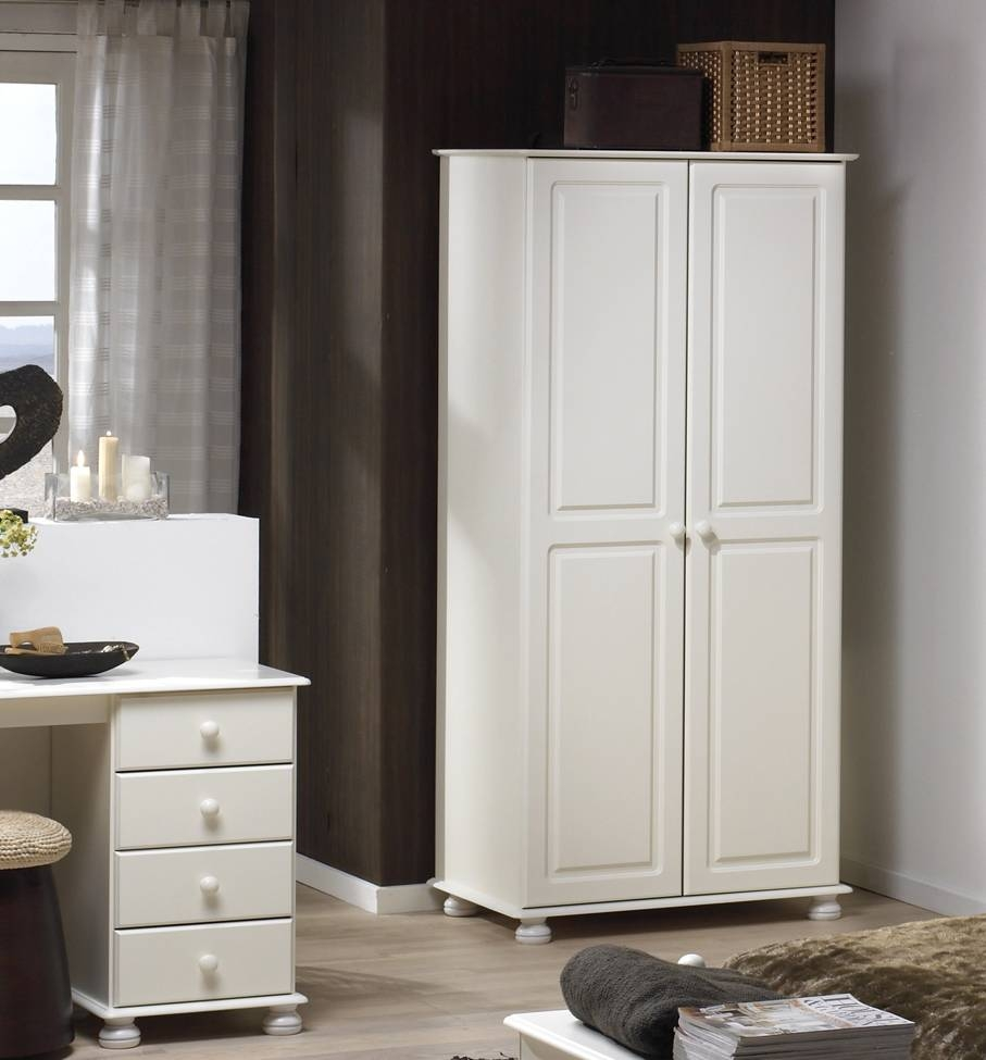 Richmond White Furniture, Chest Of Drawers, Bedside Table with regard to Richmond Wardrobes (Image 8 of 15)