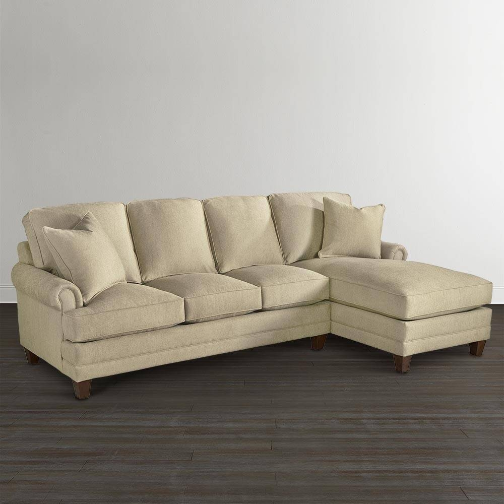 Right Chaise Upholstered Sectional in Angled Chaise Sofa (Image 16 of 30)