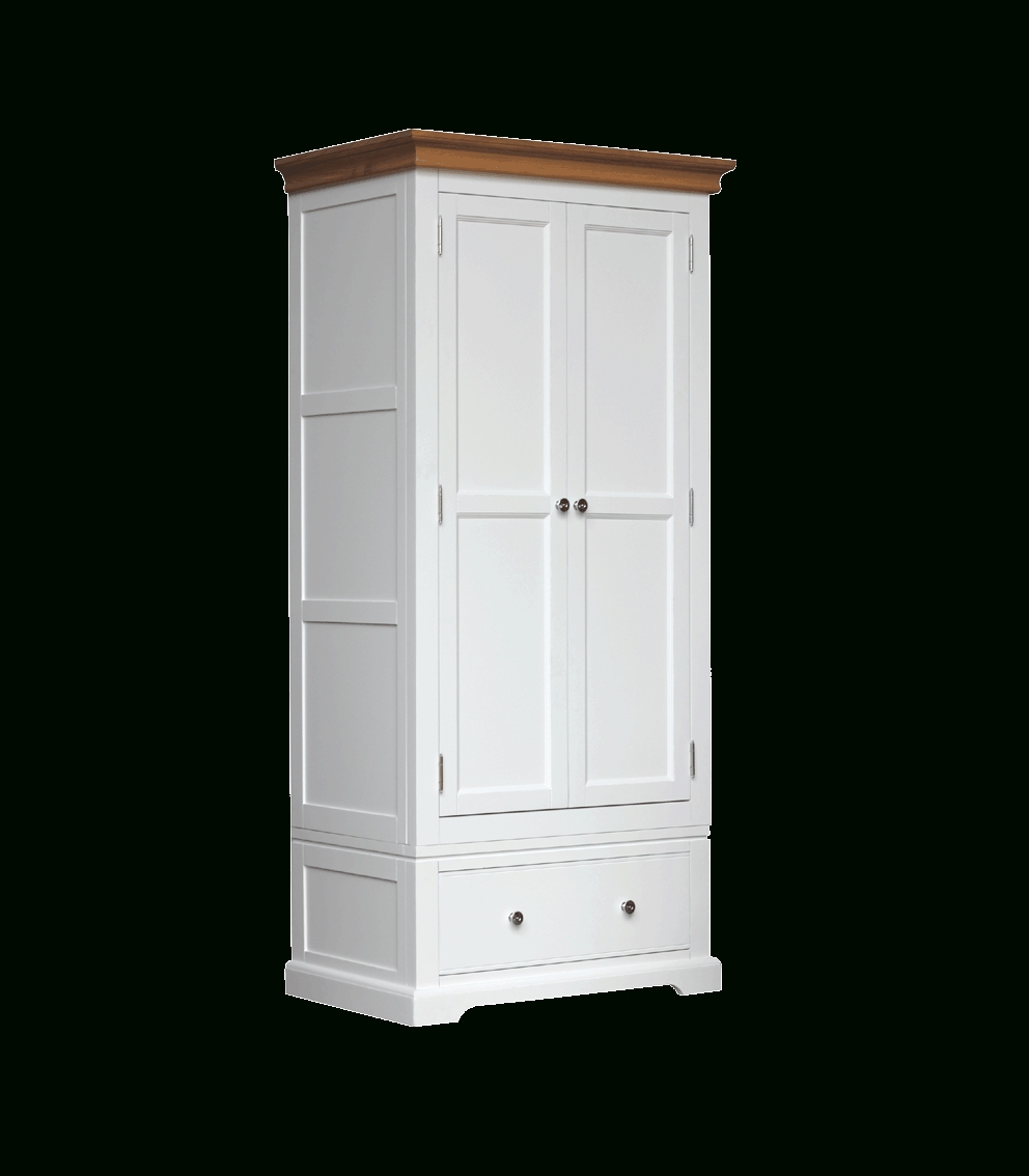 Rio Wardrobe – Cream Single With Cream Single Wardrobes (View 10 of 15)