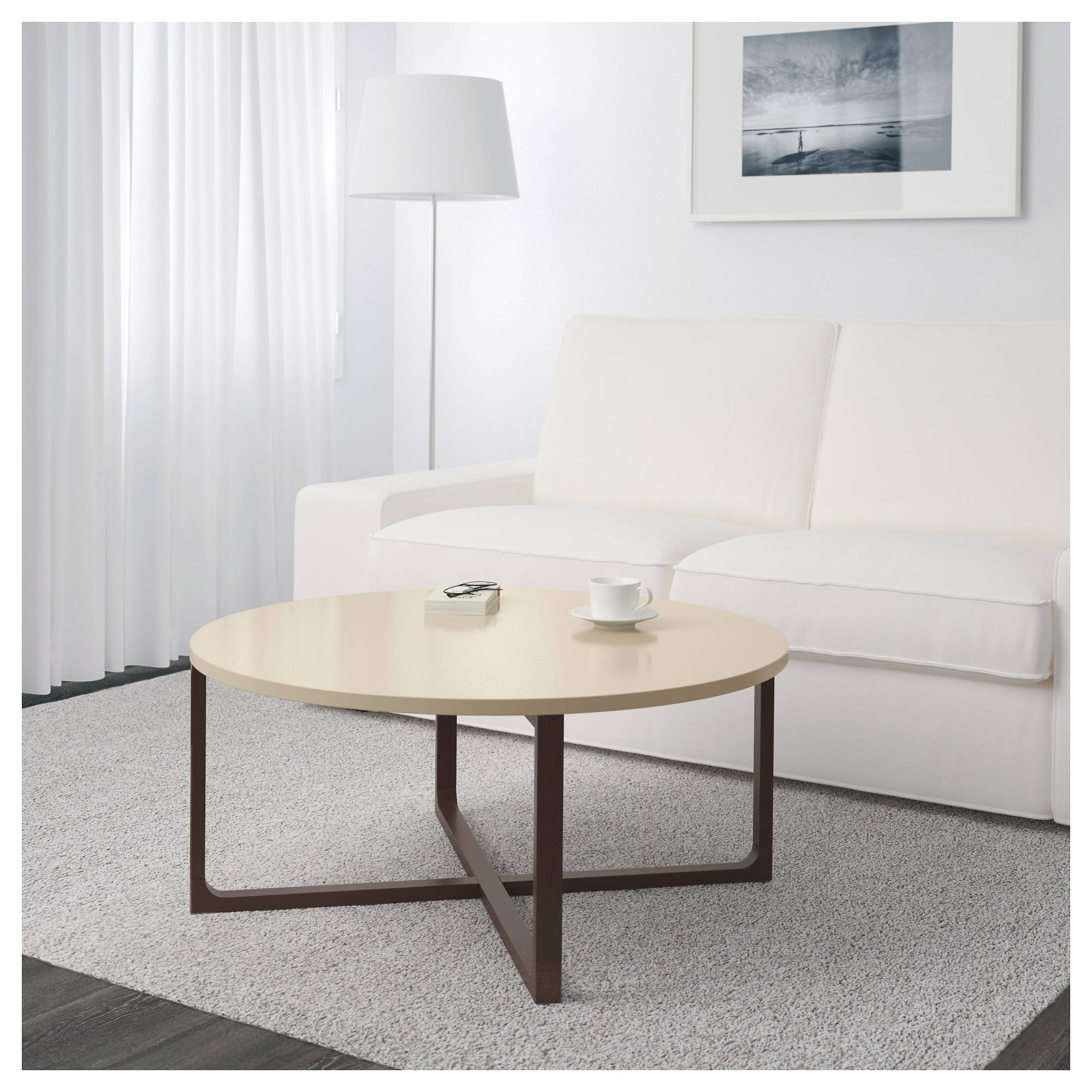Rissna Coffee Table – Ikea Inside Beige Coffee Tables (View 4 of 30)