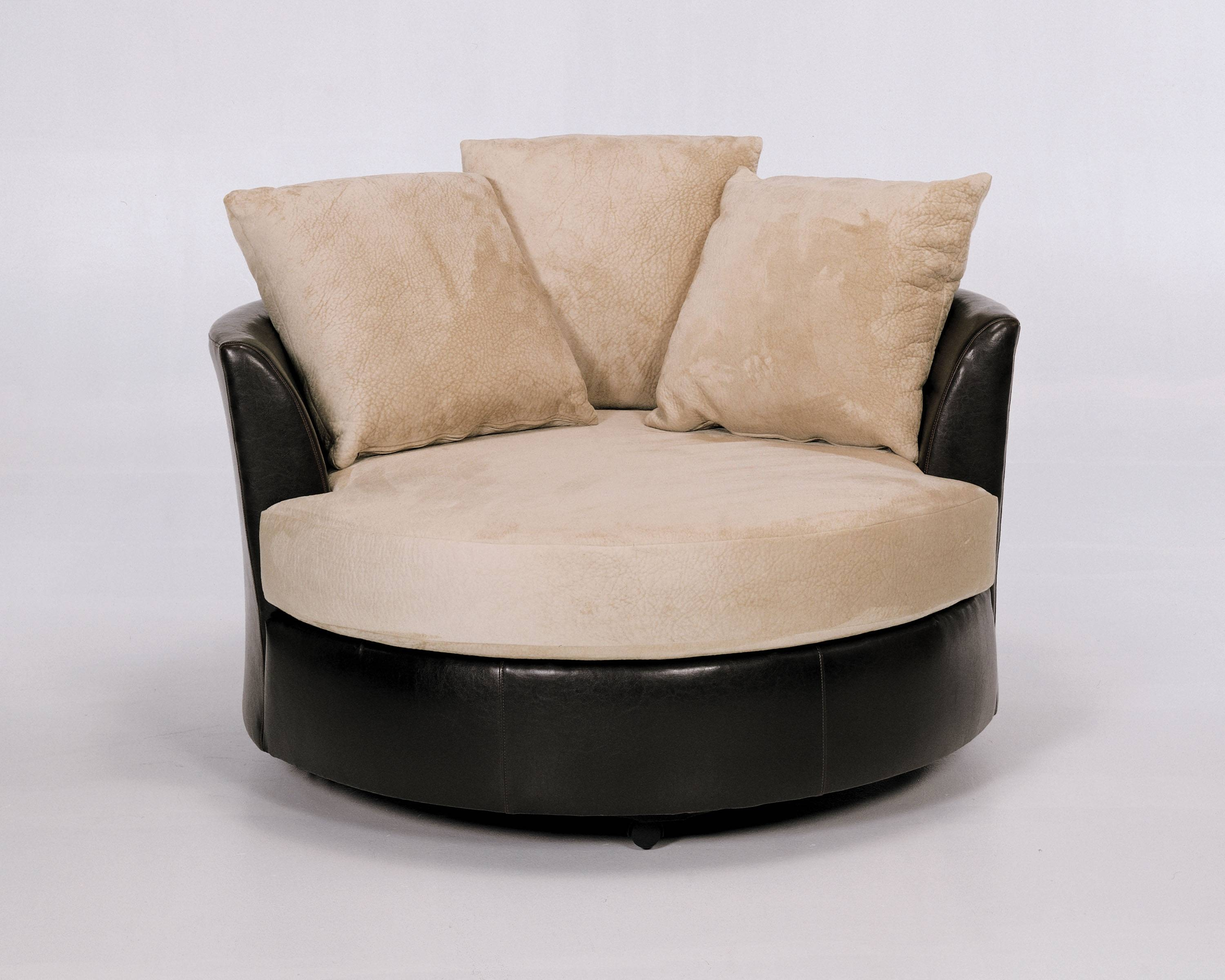 Robert Michael 9645 Cuddler Swivel Chair intended for Cuddler Swivel Sofa Chairs (Image 18 of 30)