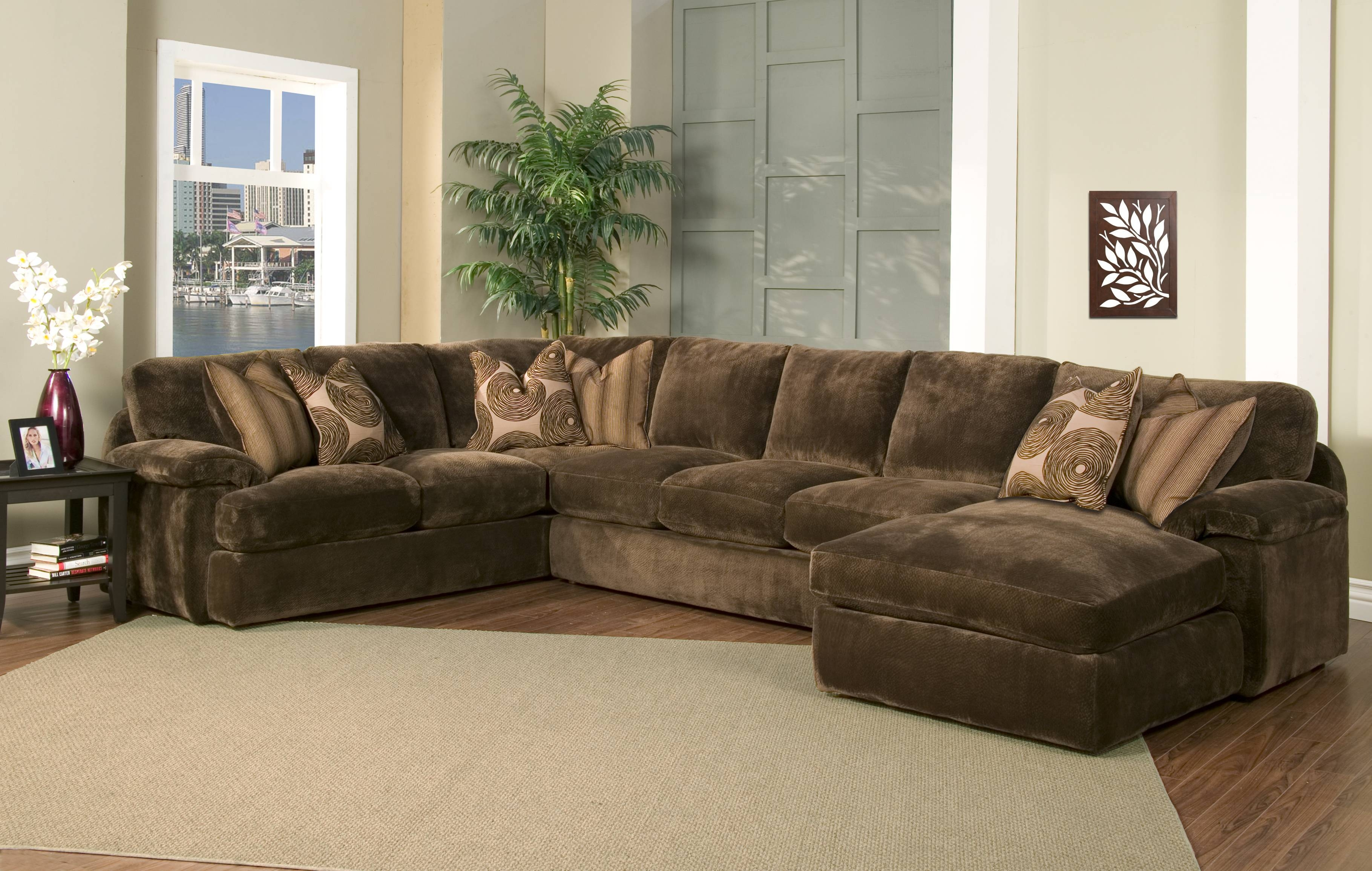 Robert Michaels Sofas And Sectionals regarding Chocolate Brown Sectional Sofa (Image 24 of 30)