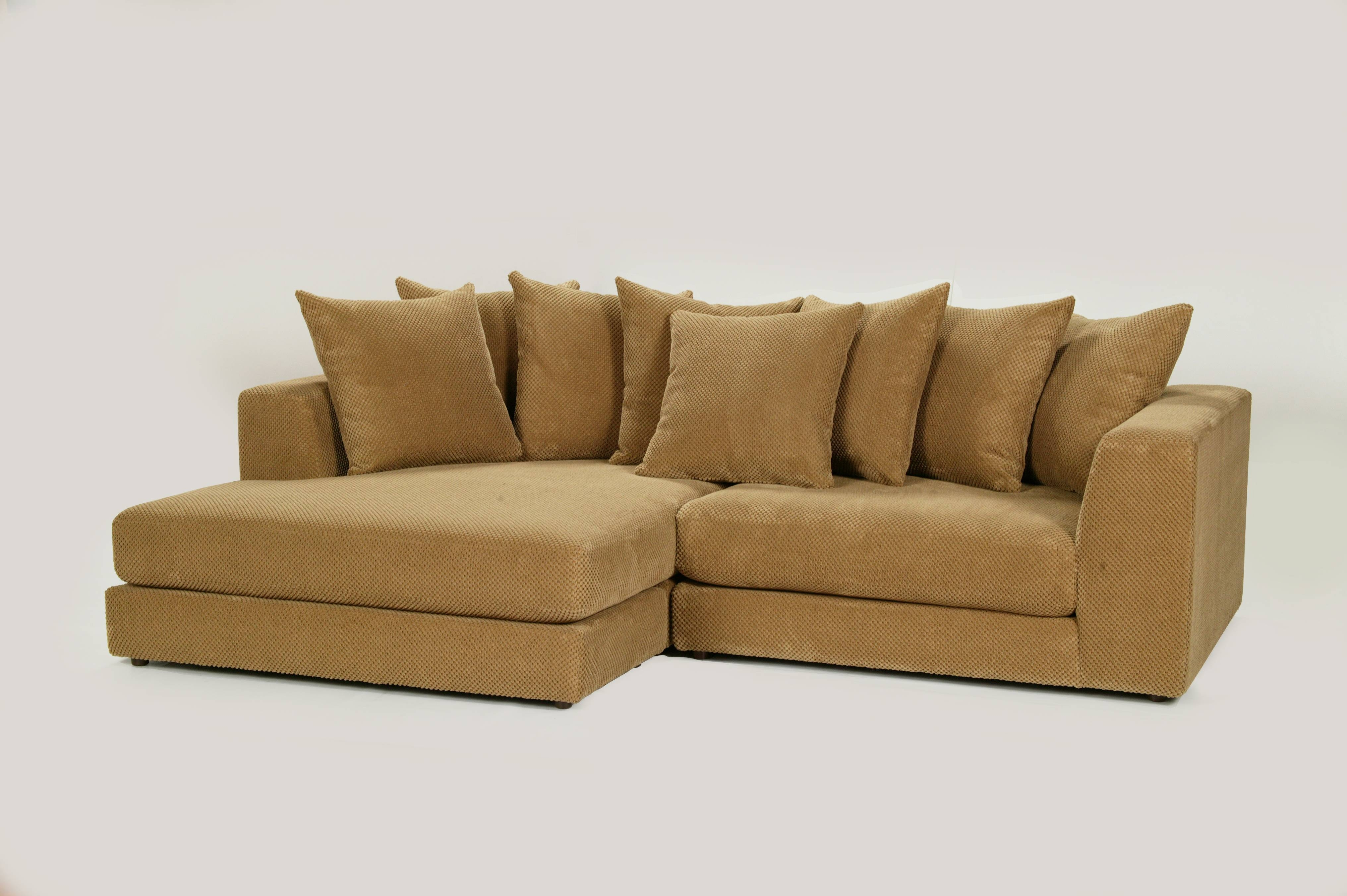 Robert Michaels Sofas And Sectionals throughout Gold Sectional Sofa (Image 19 of 25)