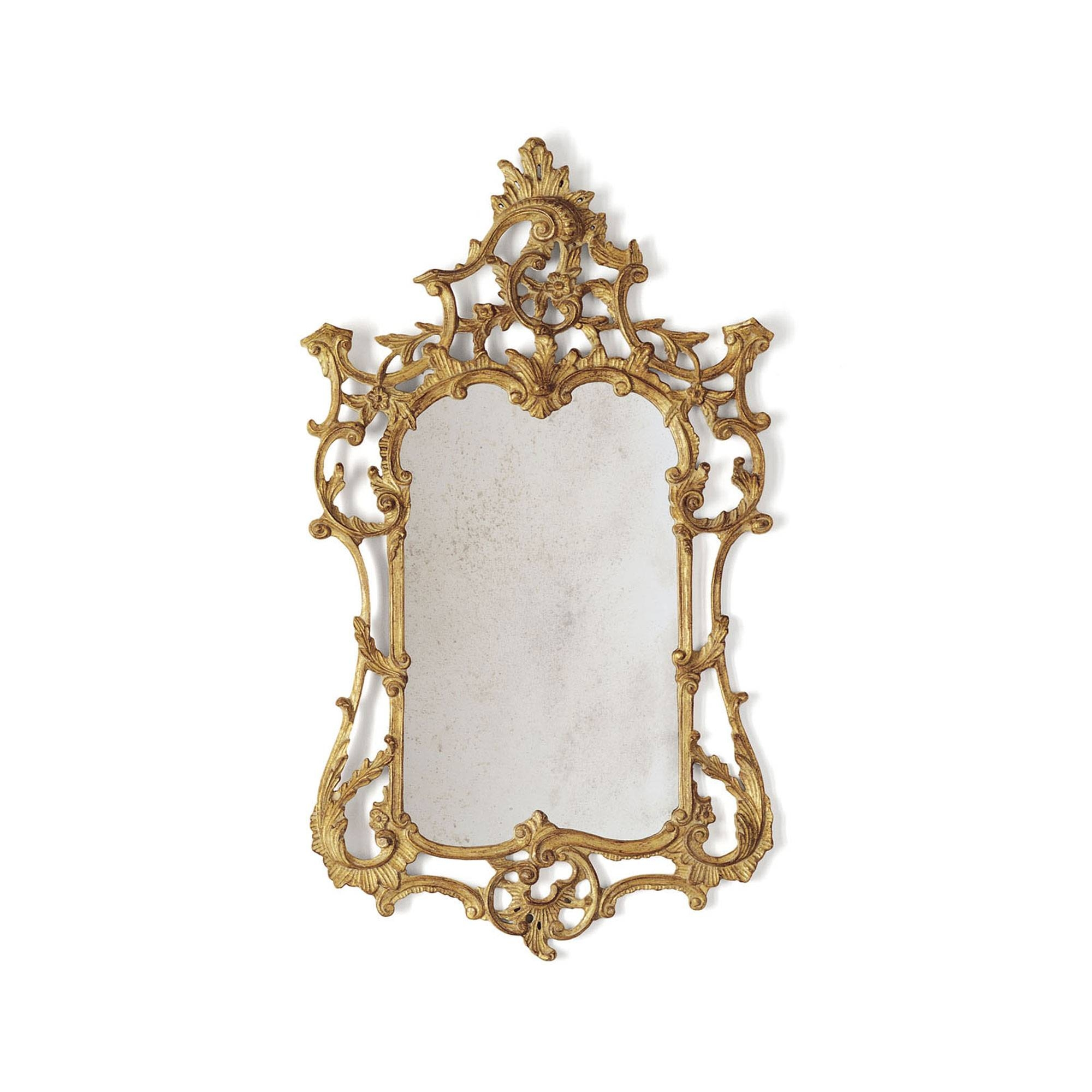 Rococo Mirror | Hand Carved Mirror | Beaumont & Fletcher Pertaining To Gold Rococo Mirrors (View 24 of 25)
