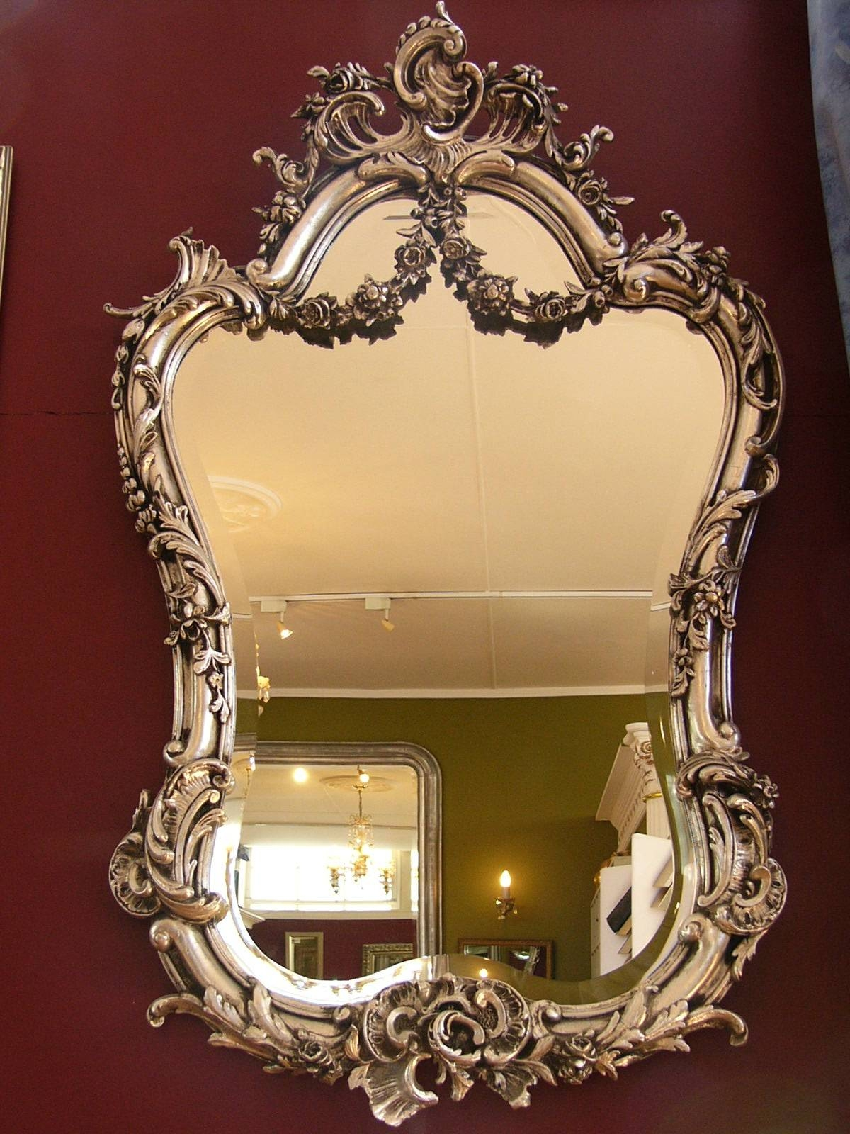 Rococo Mirror inside Rococo Mirrors (Image 21 of 25)
