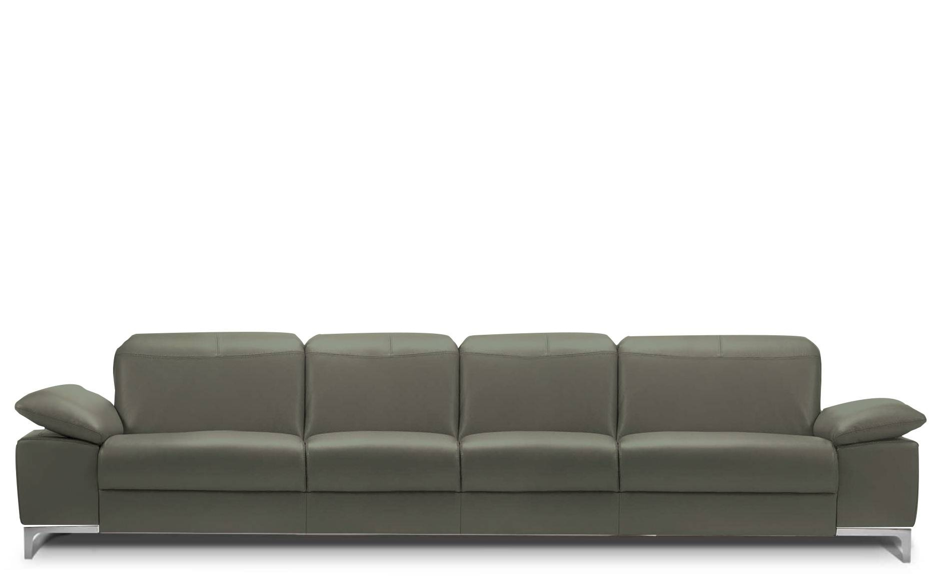 Rom Chronos 4 Seater Leather Sofa | Buy At Kontenta pertaining to Four Seat Sofas (Image 27 of 30)