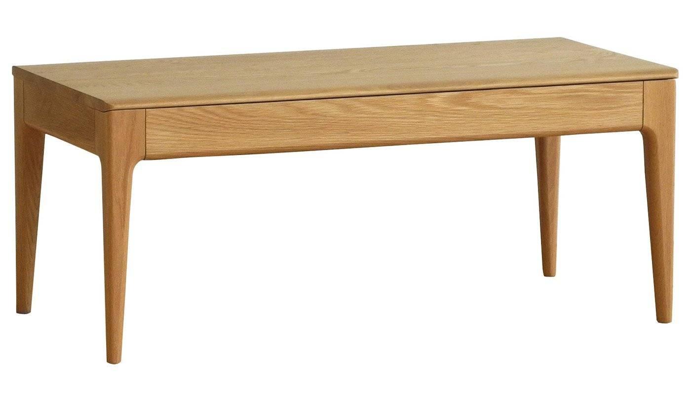 Romana Coffee Table Dead Matt Oak – Coffee Tables – Tables Intended For Oak Coffee Table Sets (View 23 of 30)