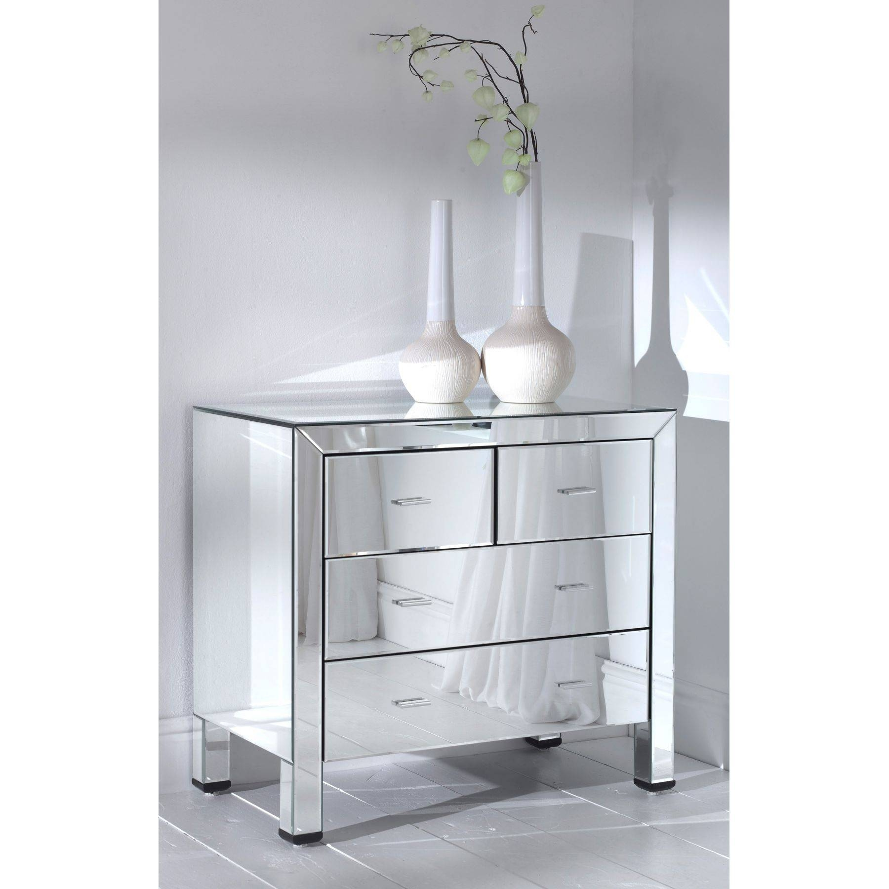 Romano Mirrored Bundle Deal #3 - French Furniture From Homesdirect for Romano Mirrored Wardrobes (Image 10 of 15)