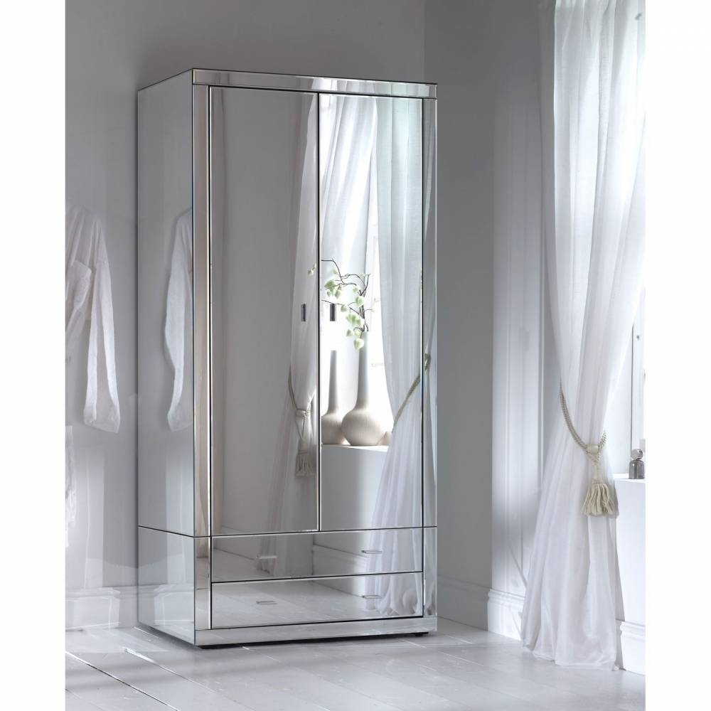 Romano Mirrored Wardrobe – French Furniture From Homesdirect 365 Uk Pertaining To Wardrobes With Mirror (View 6 of 15)