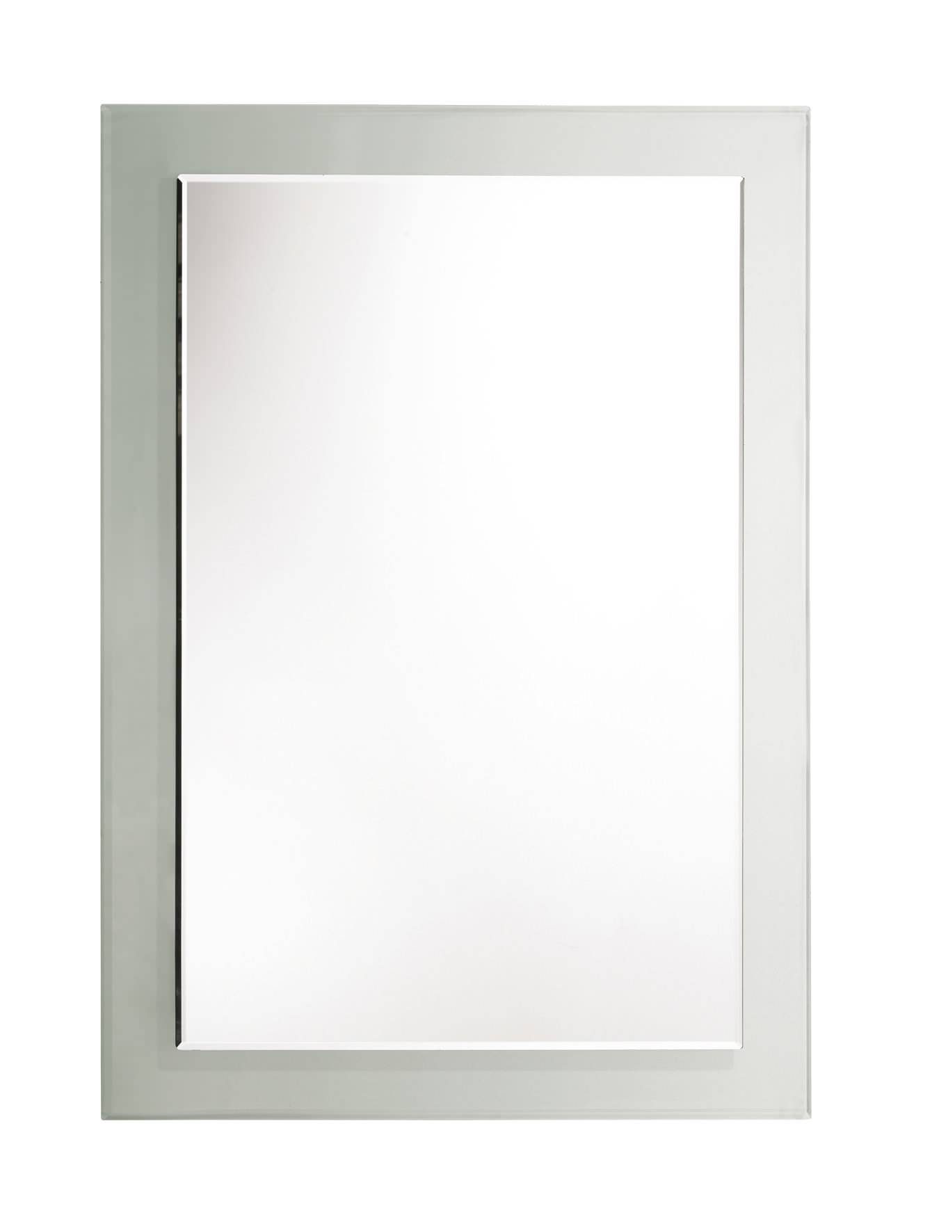 Roper Rhodes Bevelled Level Glass Mirror With Clear Frame | Mps401 Intended For Bevelled Mirrors Glass (View 19 of 25)