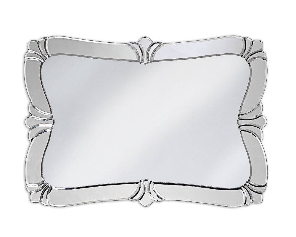Rosdorf Park Venetian Style Glass Wall Mirror & Reviews | Wayfair with Venetian Style Wall Mirrors (Image 18 of 25)