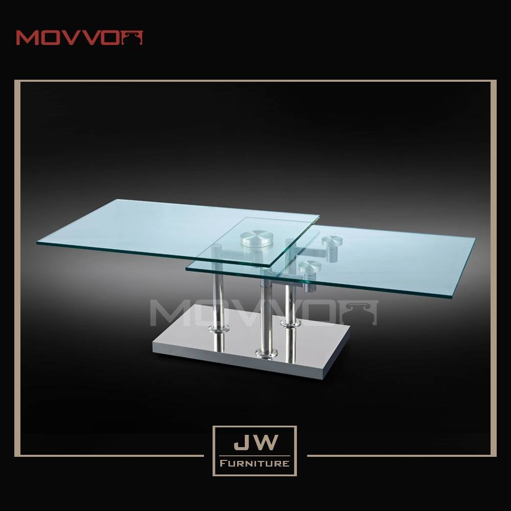 Rotating Glass Coffee Table, Rotating Glass Coffee Table Suppliers for Revolving Glass Coffee Tables (Image 25 of 30)