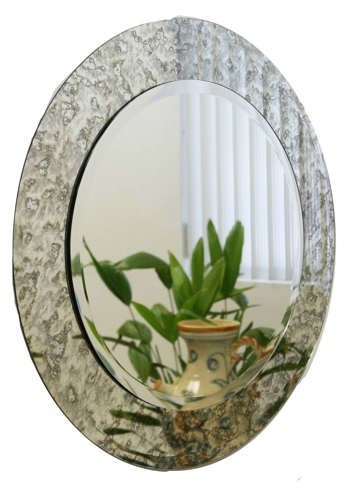 Round Antique Mirrors - Vintage Antiqued Mirrors regarding Round Bevelled Mirrors (Image 12 of 25)