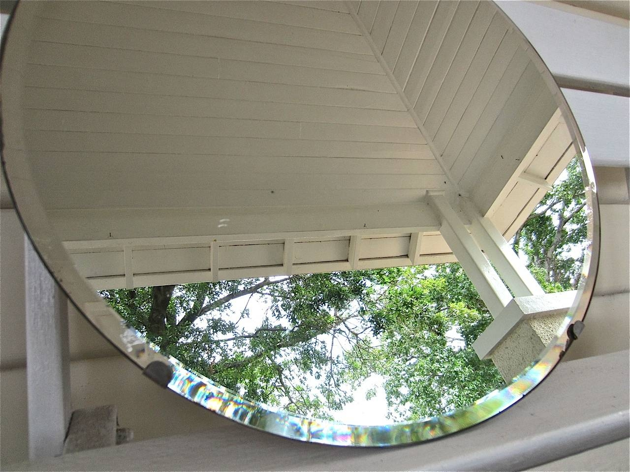 Featured Photo of Round Bevelled Mirrors