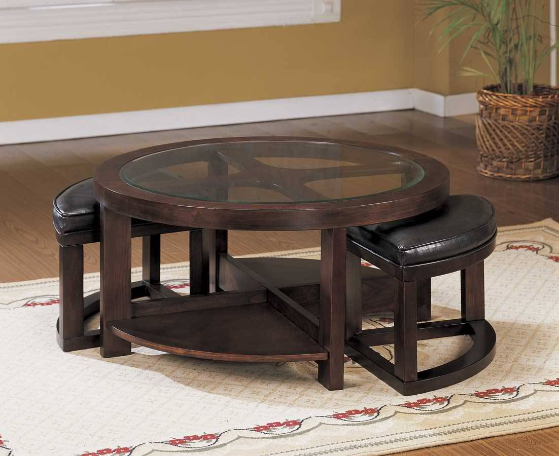 Round Coffee Table | Mystic Java Cafe for Round Coffee Tables With Drawers (Image 24 of 30)