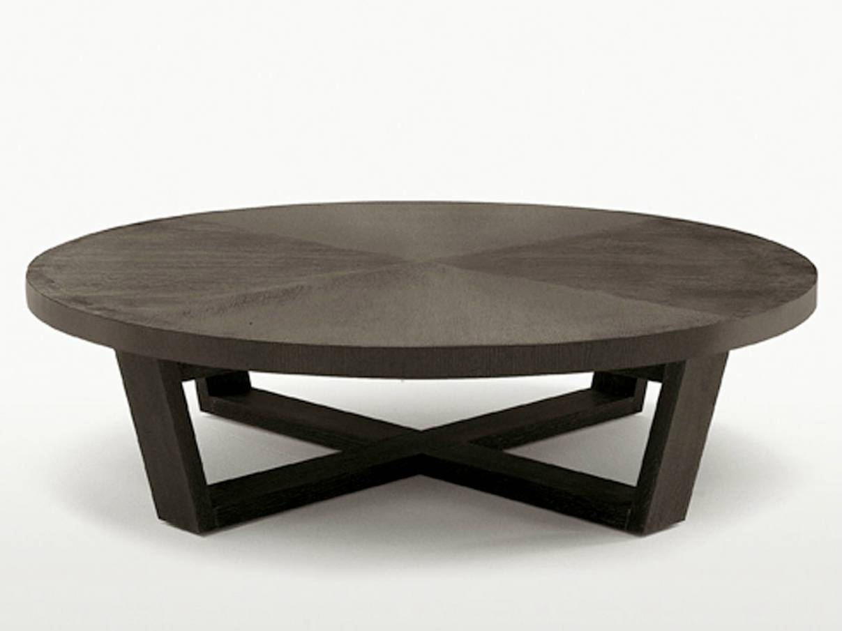 Round Coffee Table Solid Wood | Coffee Tables Decoration With Regard To Coffee Tables Solid Wood (View 9 of 30)