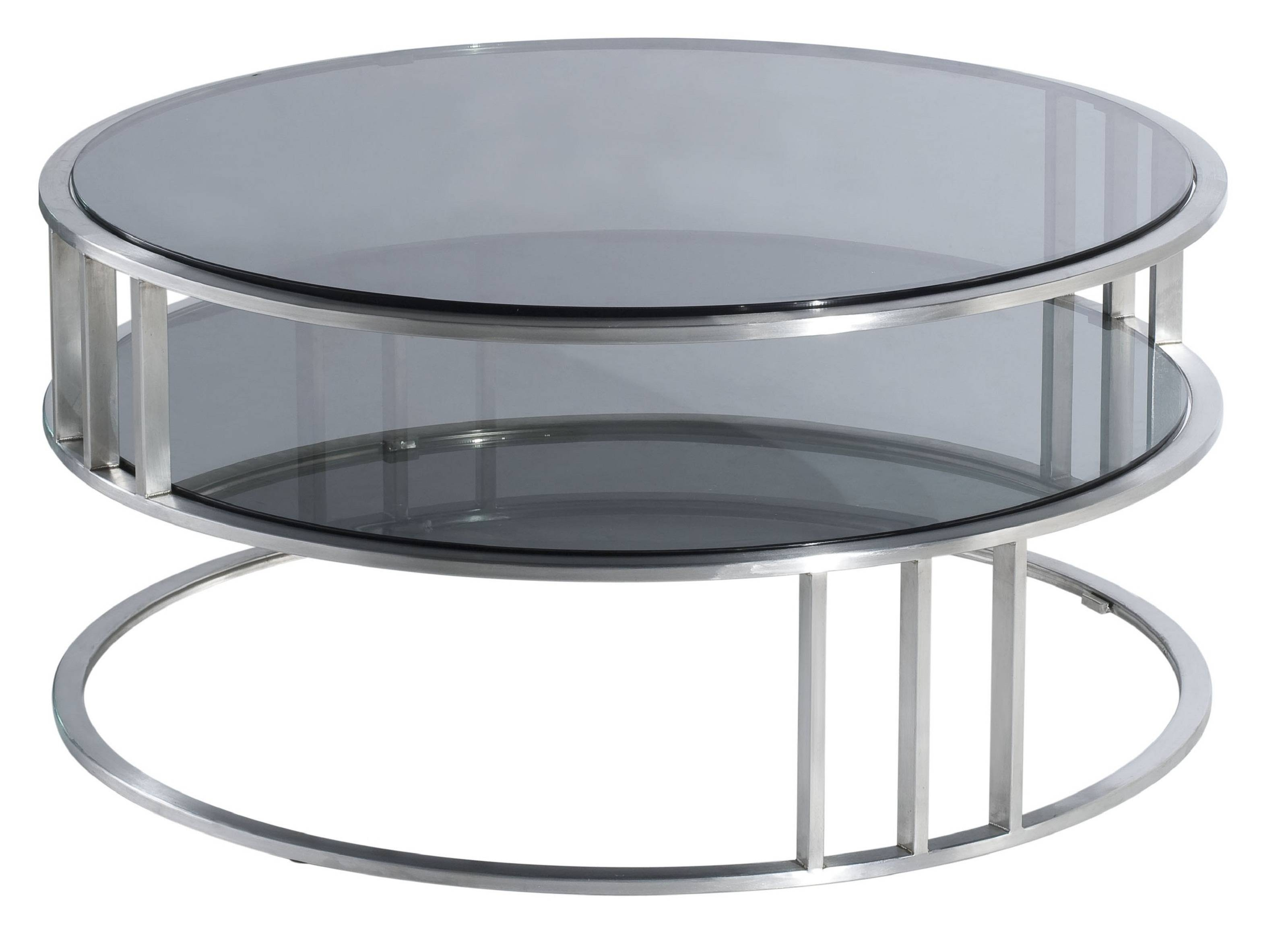 Round Coffee Table Tray. Coffee Table Ottoman With Storage Fresh pertaining to Round Chrome Coffee Tables (Image 24 of 30)