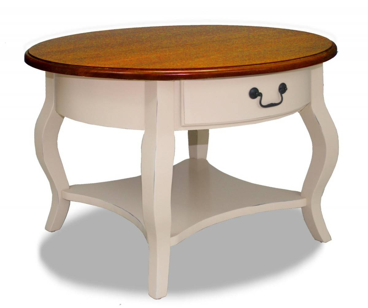 Round Coffee Table With Storage Furniture Dining Table Base Ideas throughout Cream Coffee Tables With Drawers (Image 23 of 25)